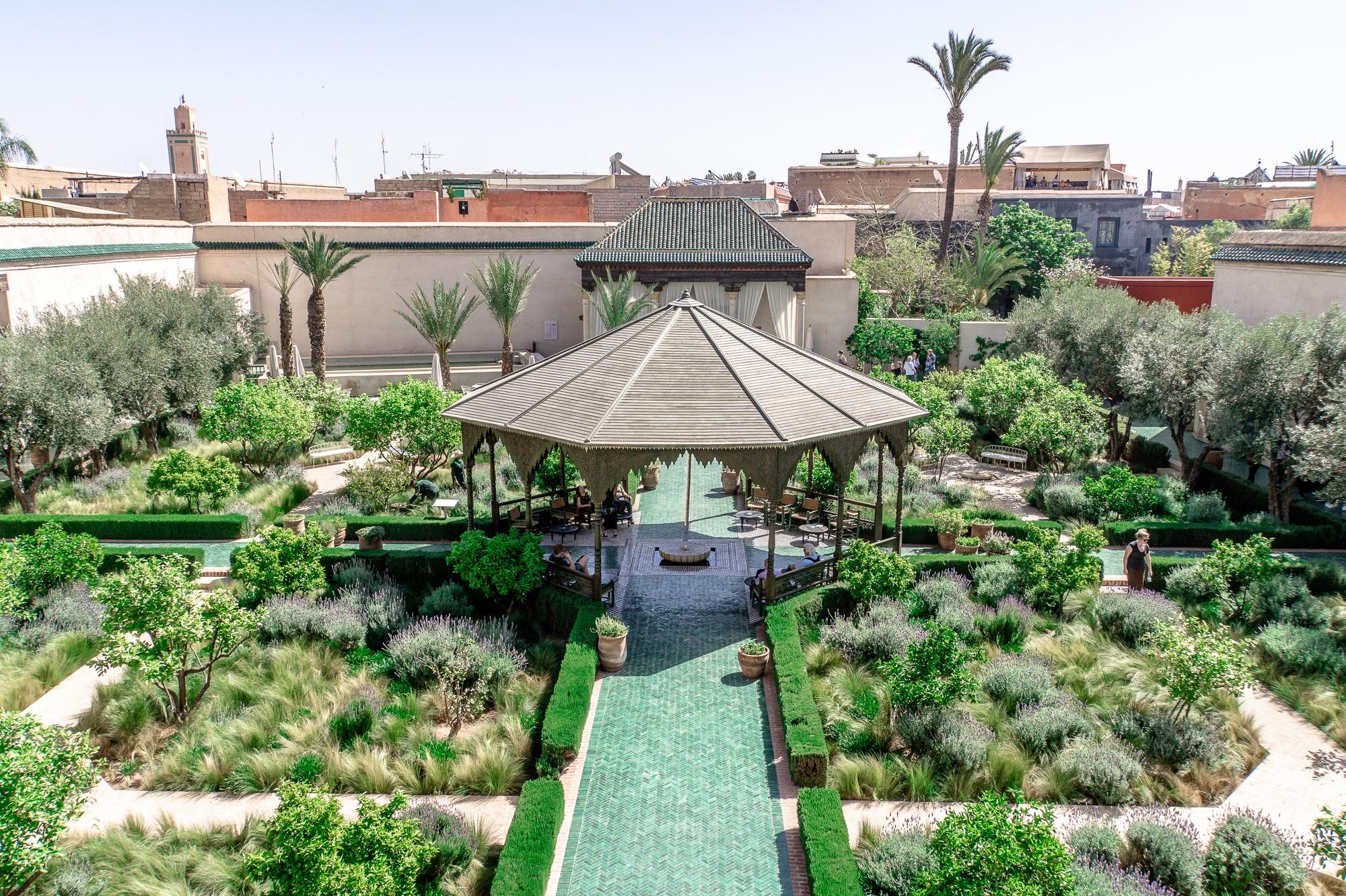 Top Ten Marrakesch Sehenswürdigkeiten - meine Marrakesch Highlights: Jardin Secret
