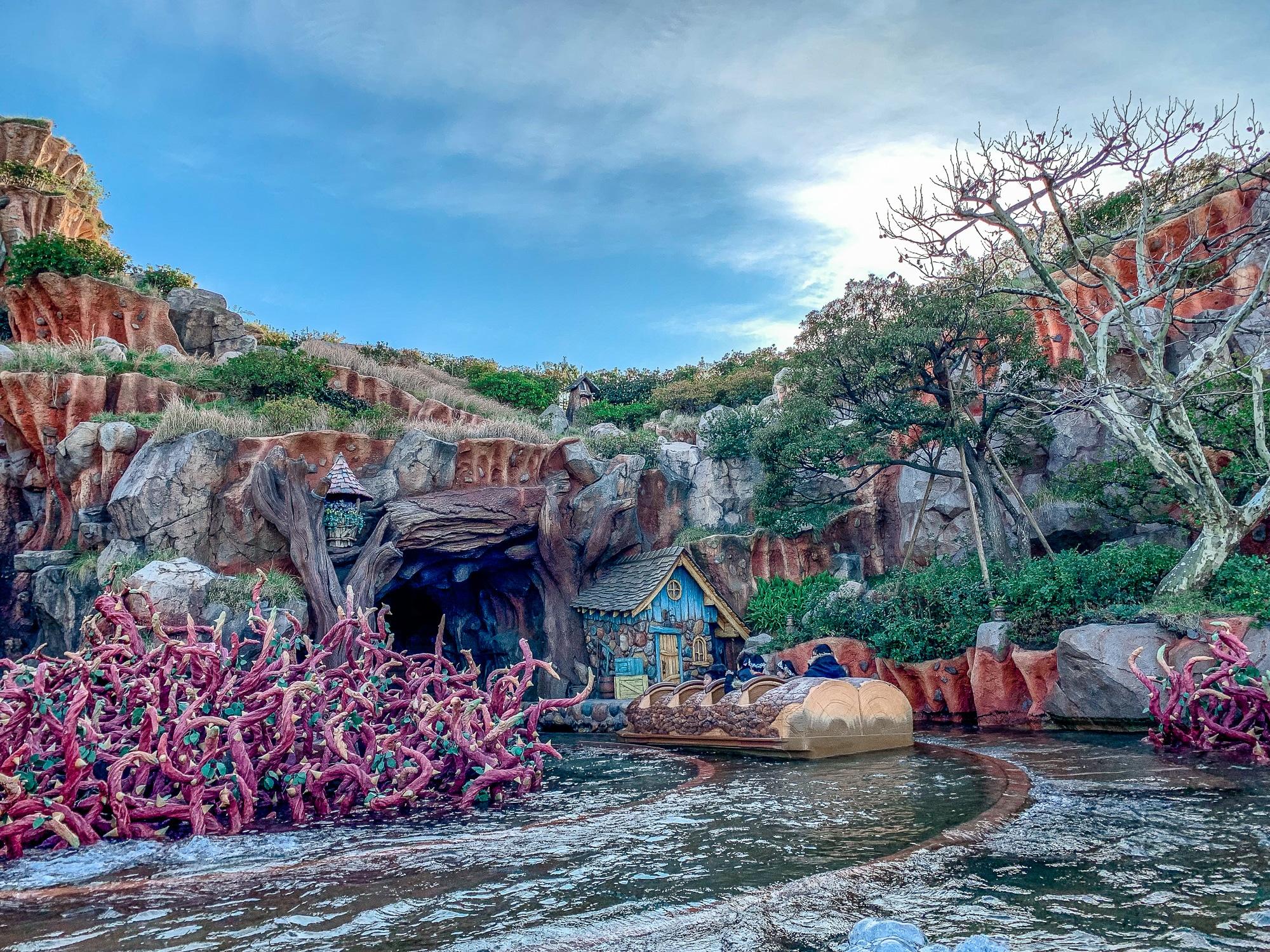 Disneyland Tokio: Meine Erfahrungen, Attraktionen und Highlights im Park - Splash Mountain im Critter Country