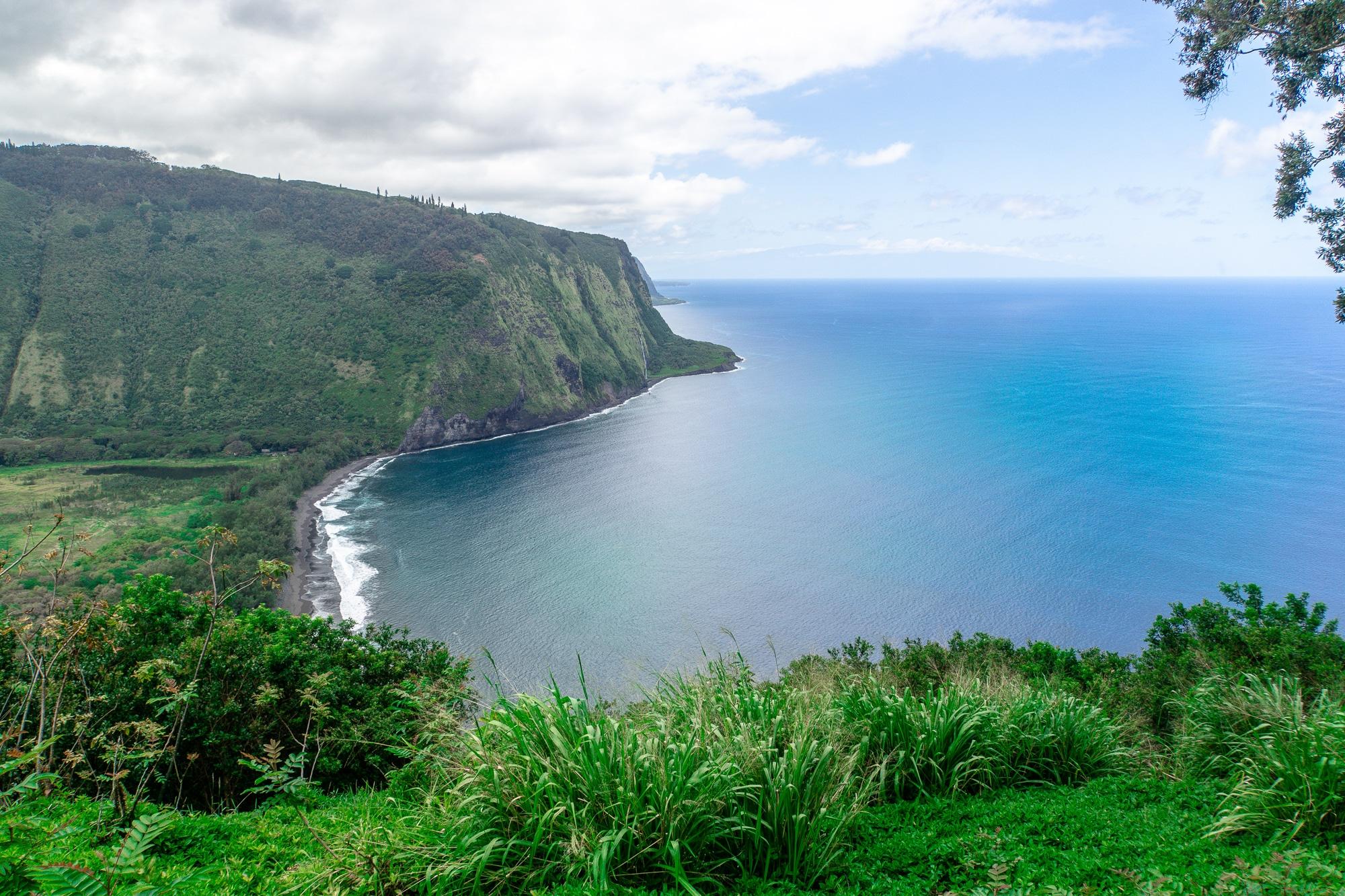 Schönste Strände auf Big Island: 6 Traumstrände für eure Hawaii Reise - Waipio Beach im Waipio Valley