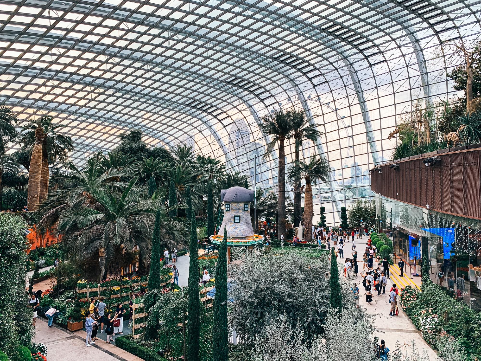 Gardens by the Bay: Sehenswürdigkeiten, Highlights und Eintrittspreise - Flower Dome Holland Ausstellung