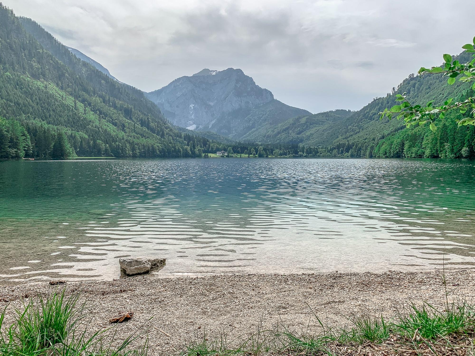 BergeSeen Trail: Erfahrungen auf der Weitwanderung im Salzkammergut - Etappe 1, Vorderer Langbathsee