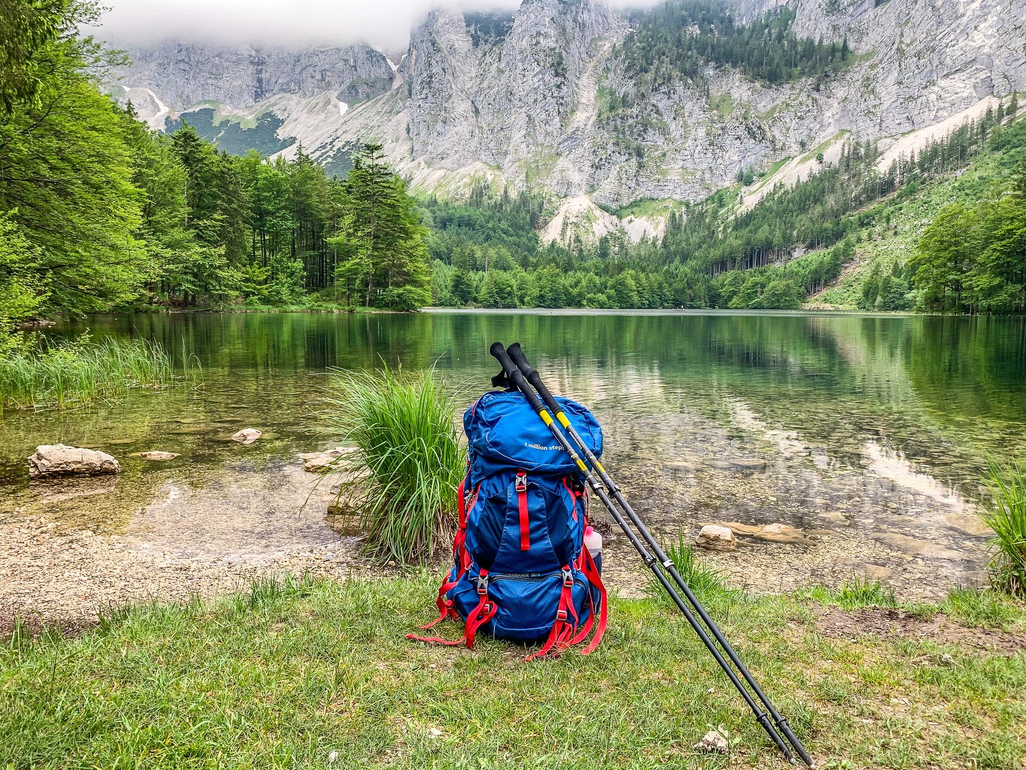 BergeSeen Trail: Erfahrungen auf der Weitwanderung im Salzkammergut - Hinterer Langbathsee