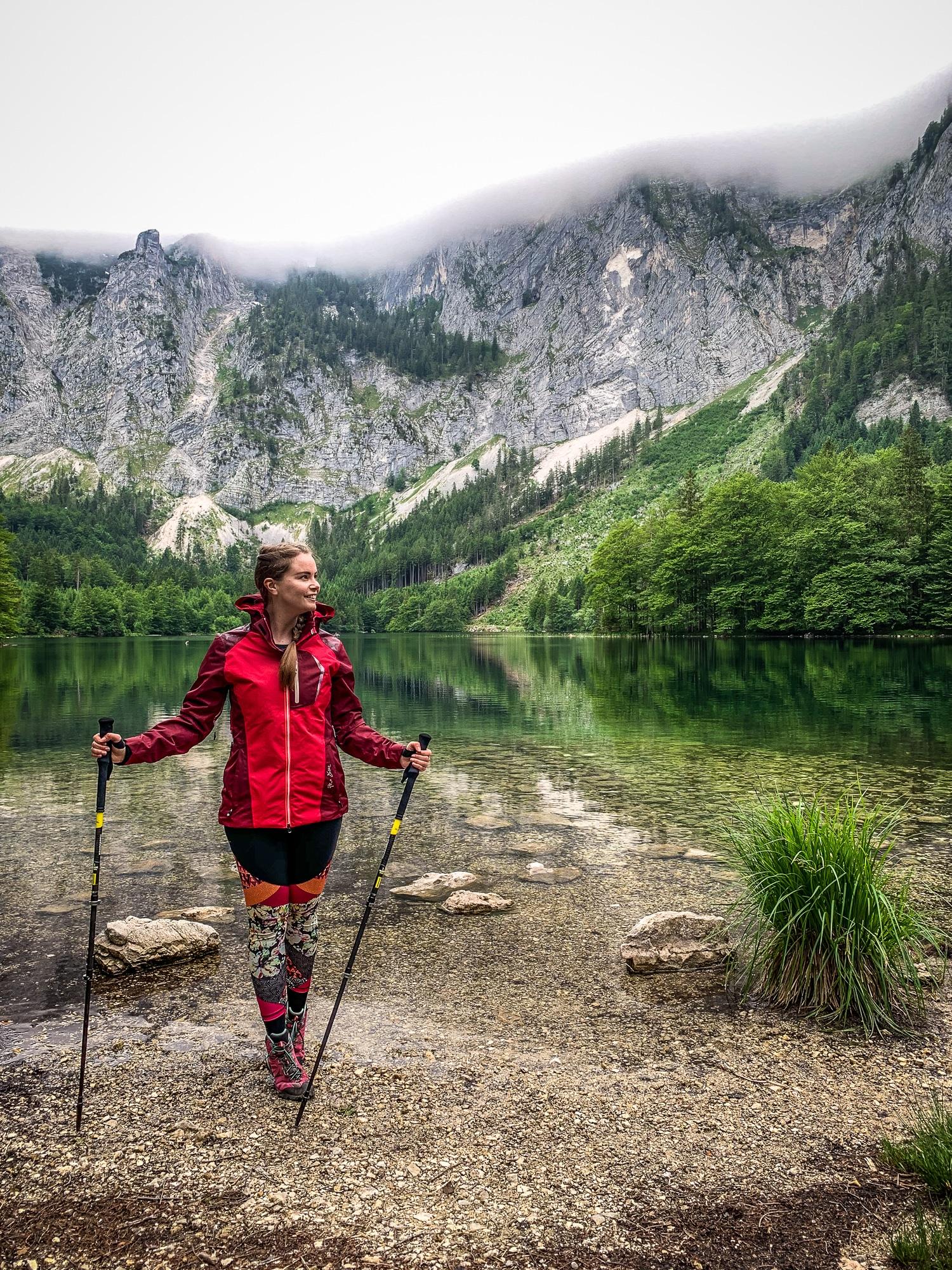 BergeSeen Trail: Erfahrungen auf der Weitwanderung im Salzkammergut - Etappe 2, Hinterer Langbathsee