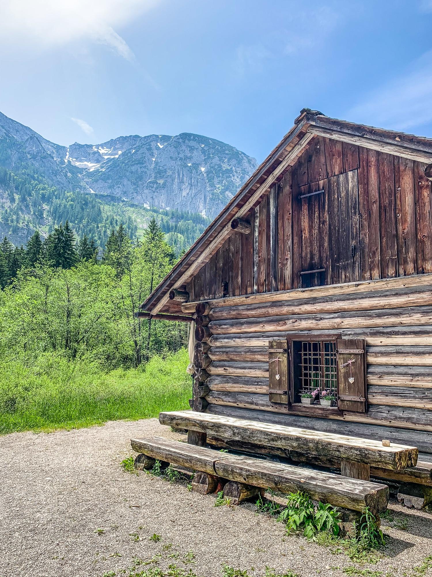 BergeSeen Trail: Erfahrungen auf der Weitwanderung im Salzkammergut - Etappe 2, Hütte