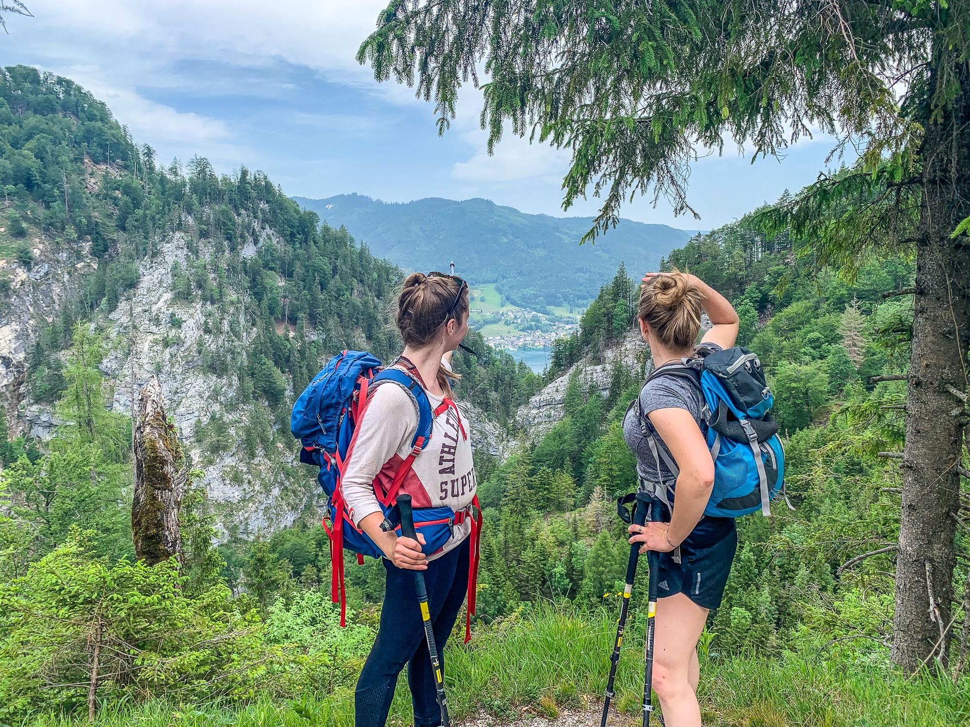 BergeSeen Trail: Erfahrungen auf der Weitwanderung im Salzkammergut - Etappe 3, Aussicht