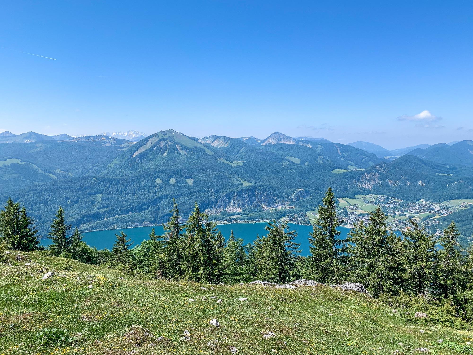 BergeSeen Trail: Erfahrungen auf der Weitwanderung im Salzkammergut - Etappe 4, Schafberggipfel auf der Schafbergalm
