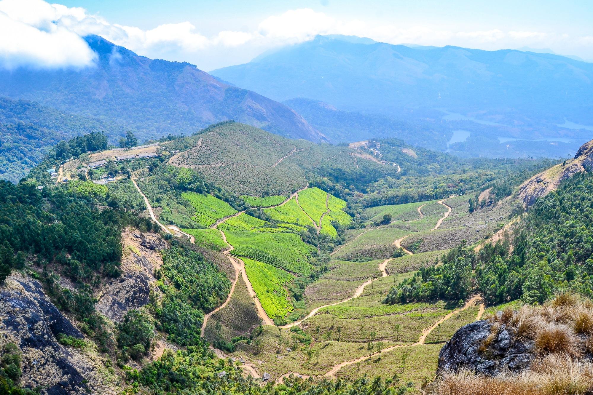 Kerala: Sehenswürdigkeiten, Kultur und Kulinarik im südlichen Indien - Wandern in den Western Ghats Mountains