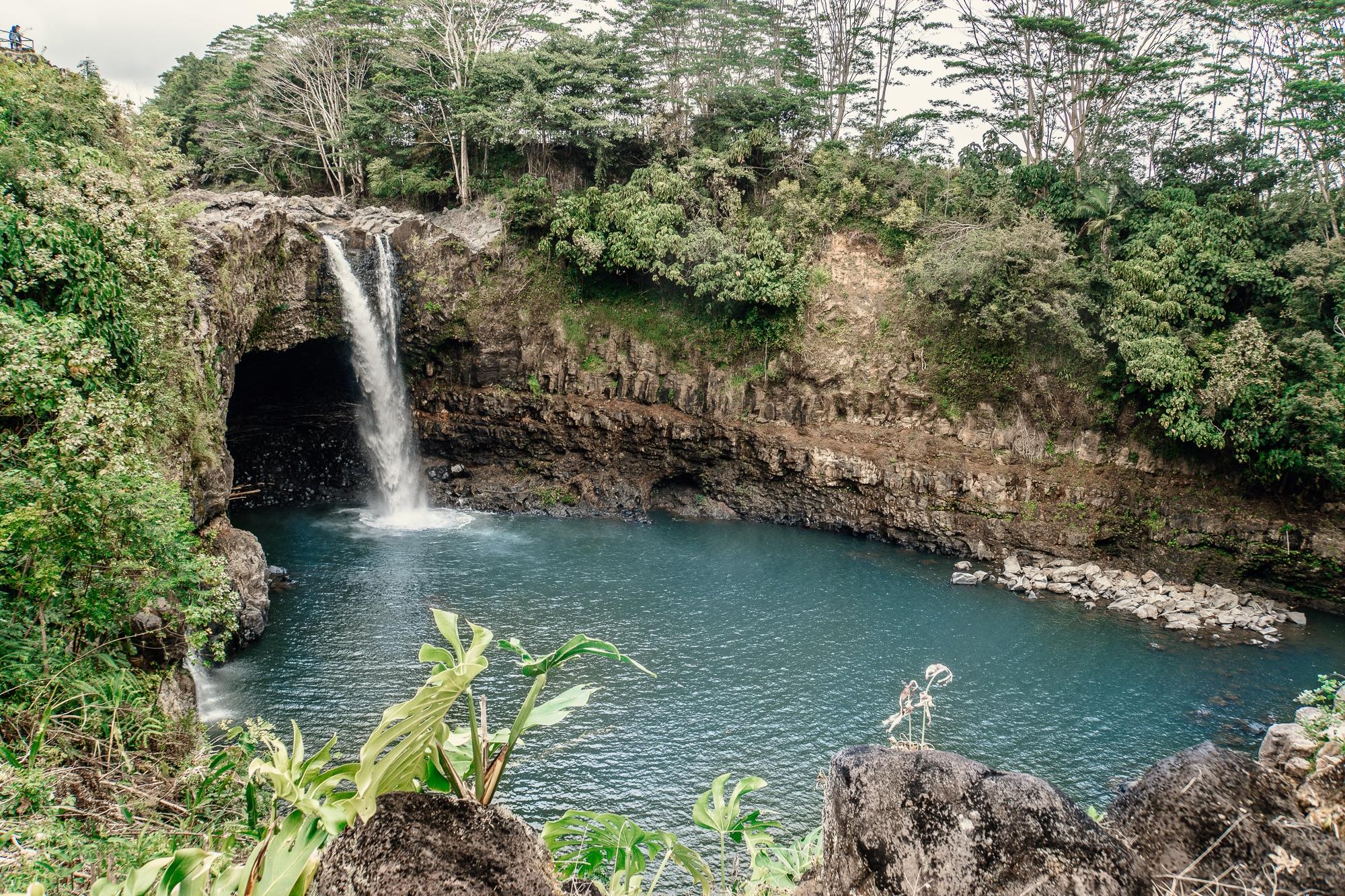 Top 10 Big Island Sehenswürdigkeiten: Tipps für einen Roadtrip auf Hawaii - Rainbow Falls