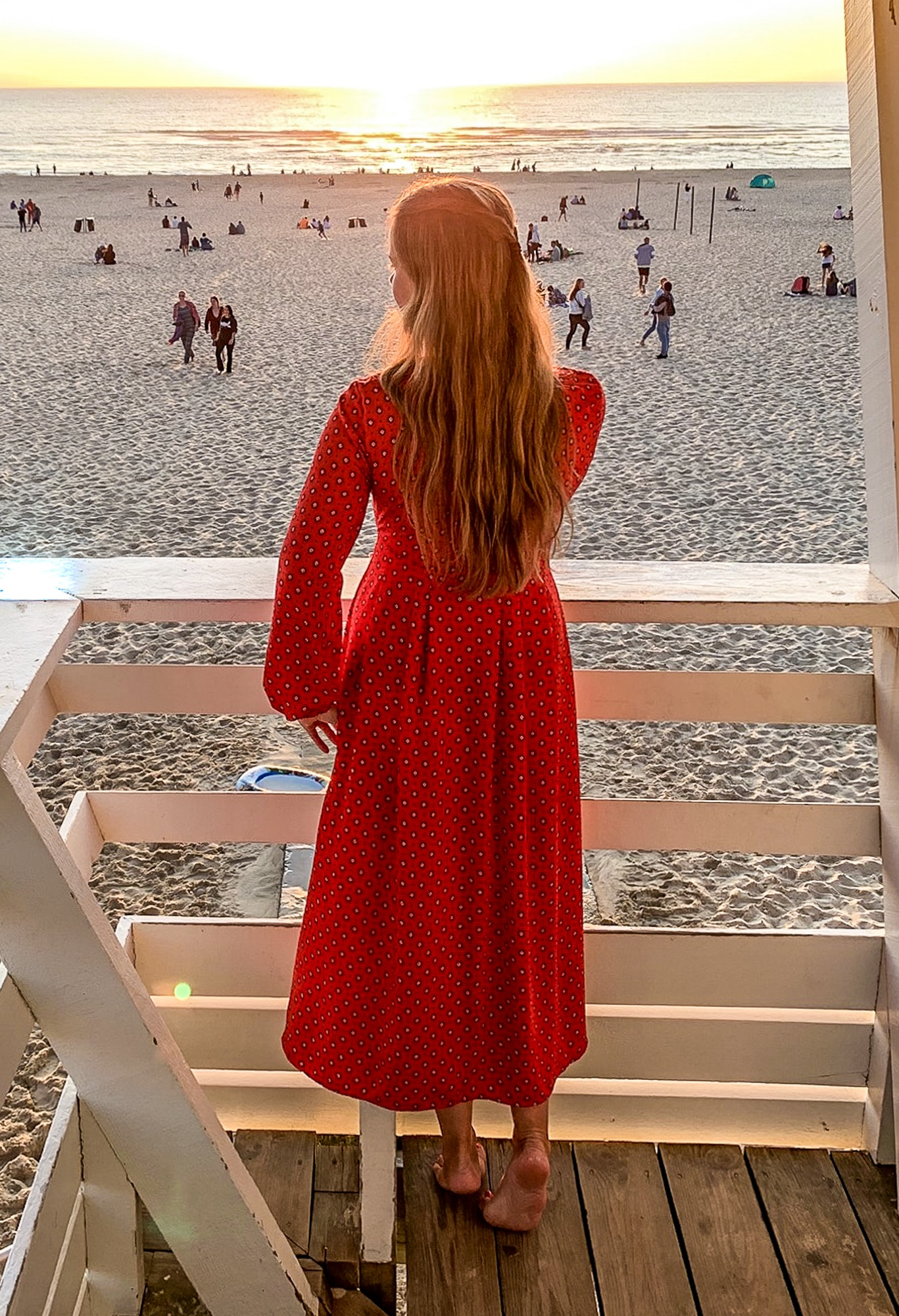 Moliets et Maa: Strand zum Sonnenuntergang
