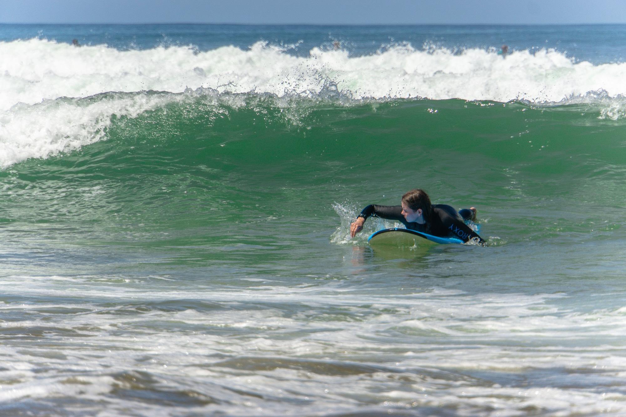 Moliets-Plage: Surfen und Yoga - meine Erfahrungen im 24+ Puresurfcamp - Surfkurs