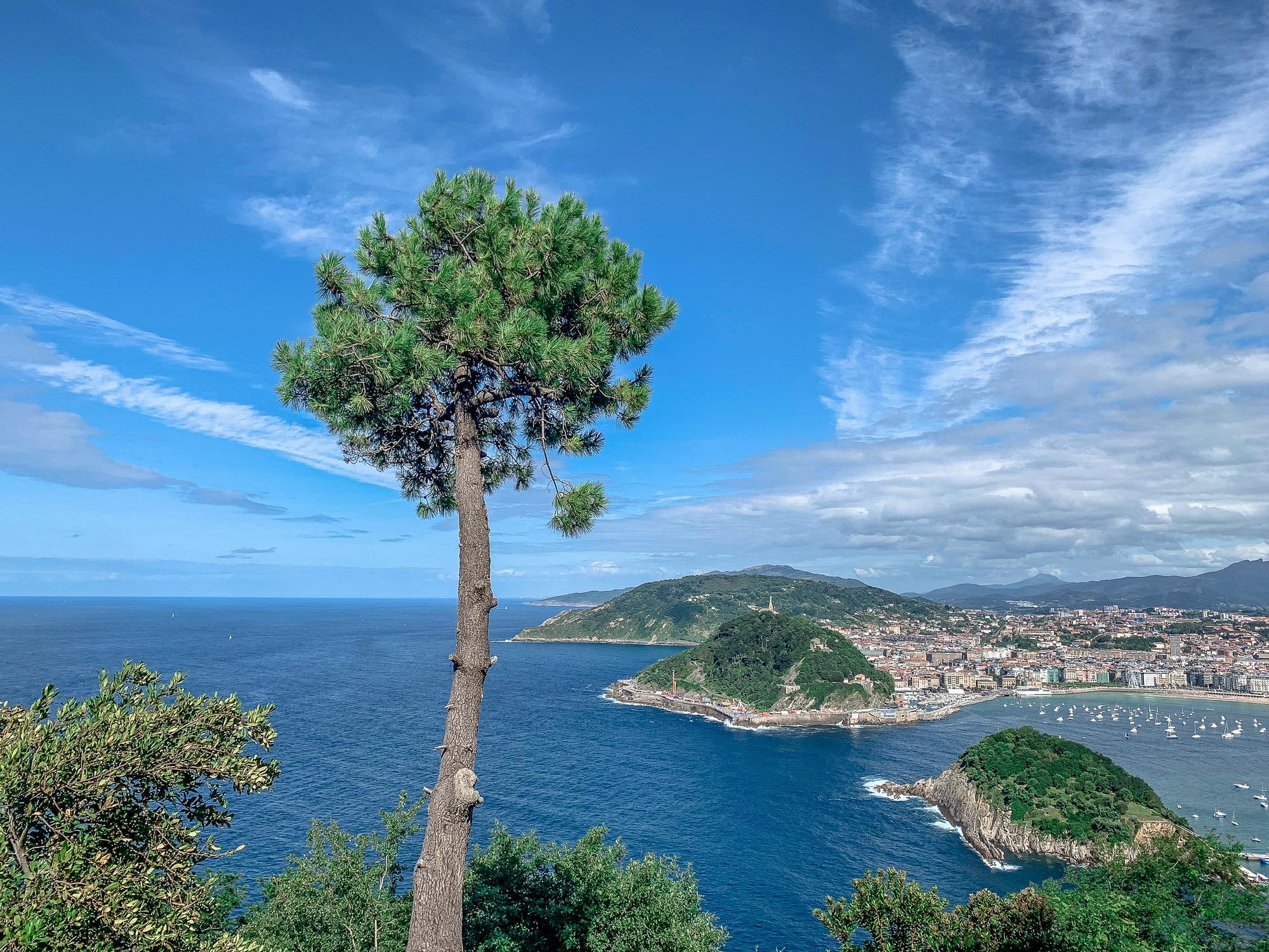 Donostia - San Sebastian - Stadtstrand - Ausblick vom Monte Igueldo