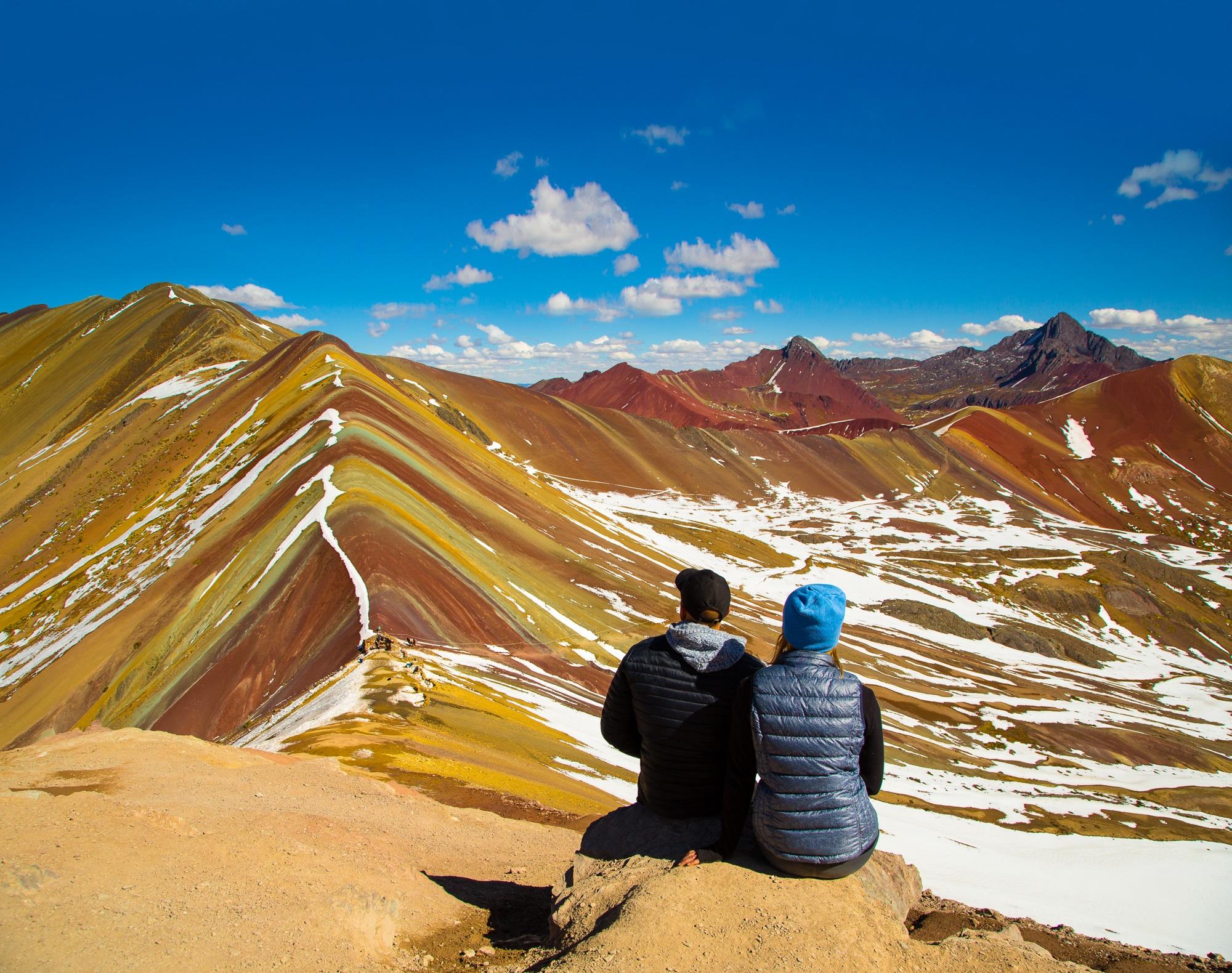 Wandern und Trekking in Peru: Die besten Routen ohne Massentourismus - Rainbow Mountain