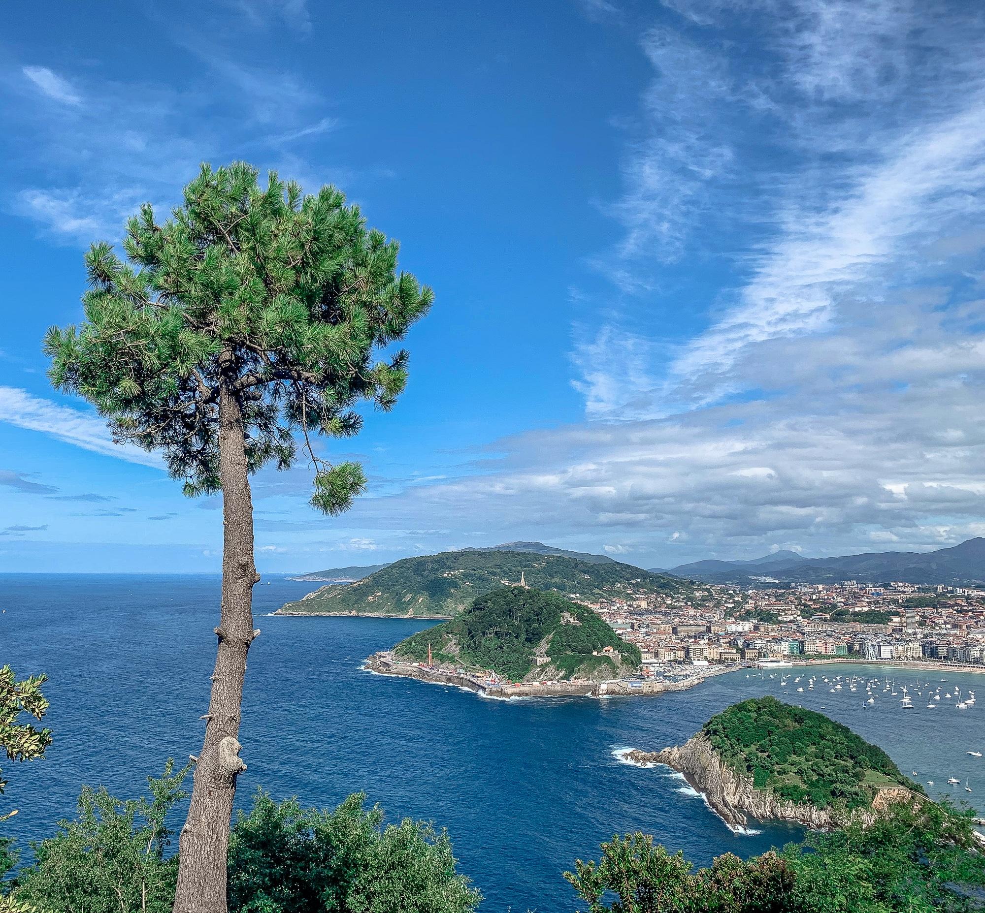 San Sebastián Sehenswürdigkeiten: Tipps für einen Donostia Tagesausflug - Monte Igueldo Aussicht