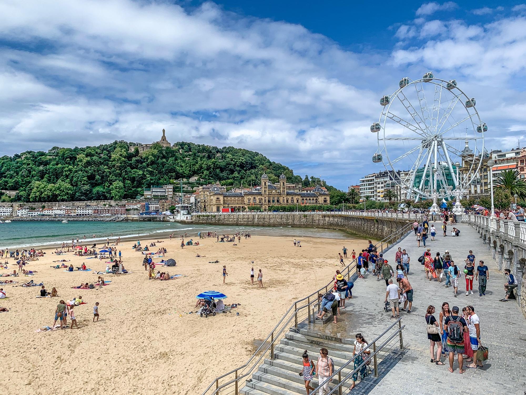 San Sebastián Sehenswürdigkeiten: Tipps für einen Donostia Tagesausflug - Stadtstrand