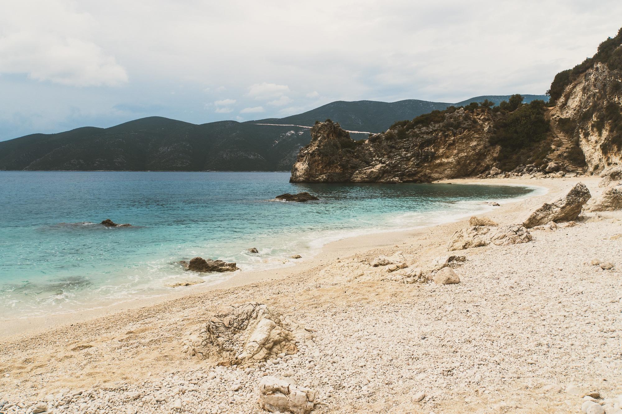 Top 10 Lefkada Sehenswürdigkeiten - schönste Strände auf der Insel: Agiofili Beach