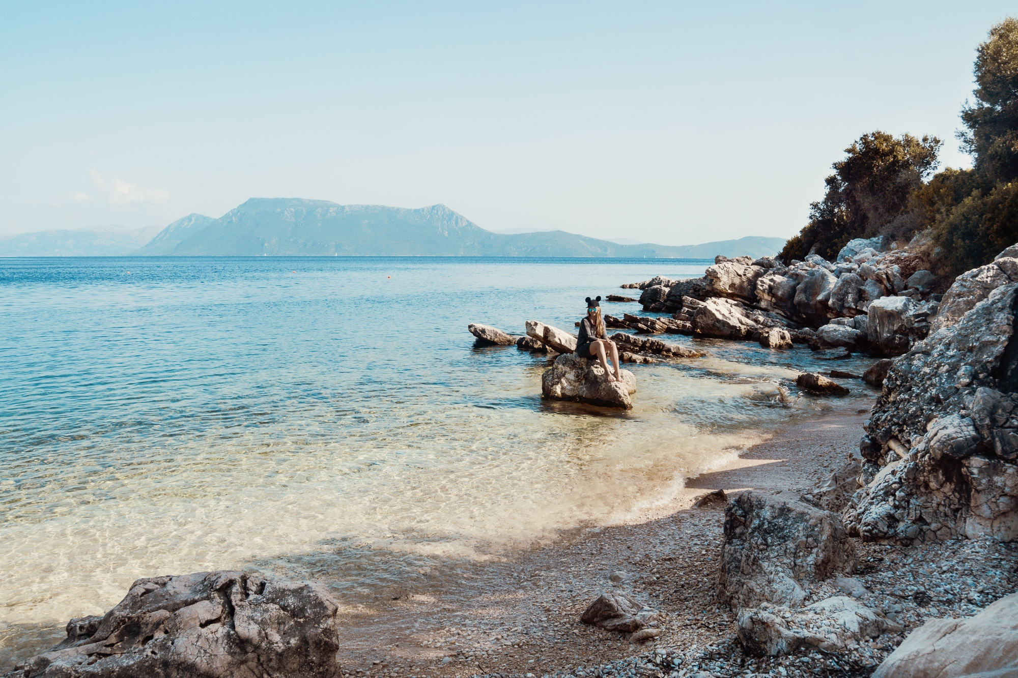 Meganisi: Limonari Beach
