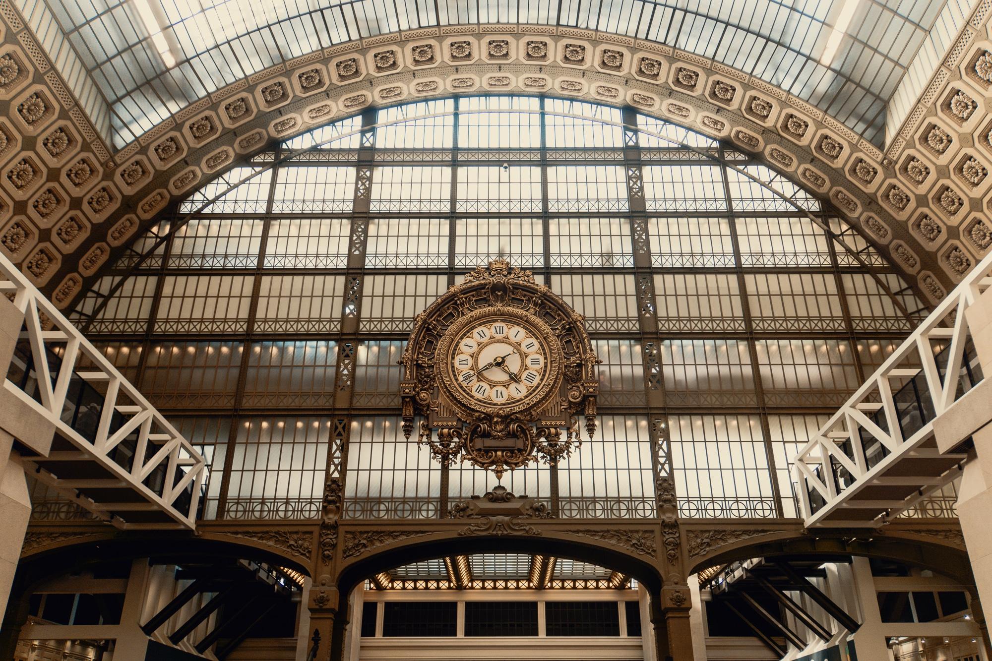 Schönste Fotospots in Paris - und meine liebsten Instagram Hotspots - Orsay Museum alte Bahnhofshalle