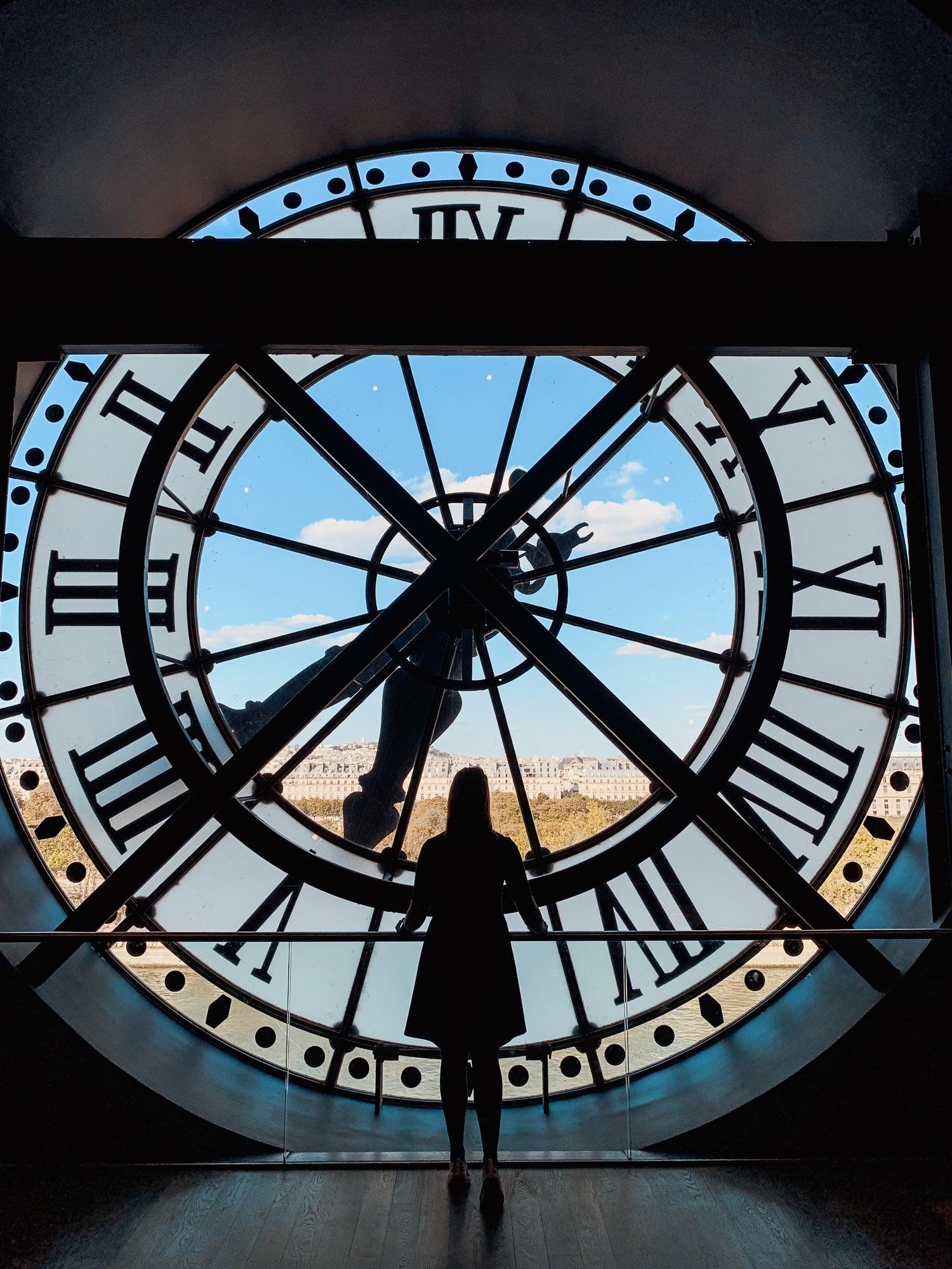 Schönste Fotospots in Paris - und meine liebsten Instagram Hotspots - Orsay Museum Uhr