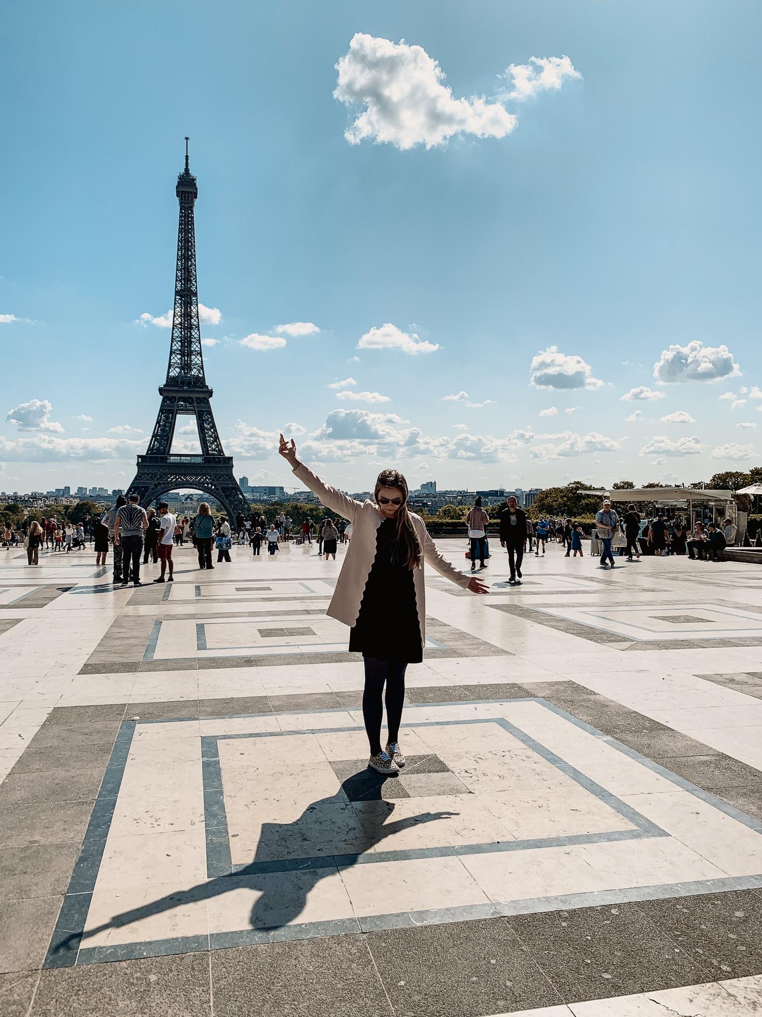 Schönste Fotospots in Paris - und meine liebsten Instagram Hotspots - Place du Trocadero