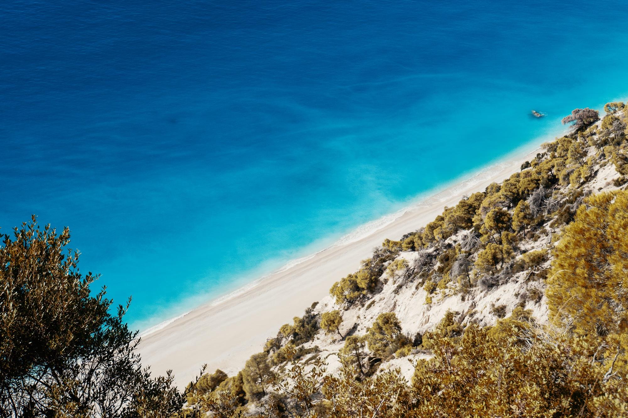 Top 10 Lefkada Sehenswürdigkeiten - alle Highlights auf der Insel - Egremni Beach