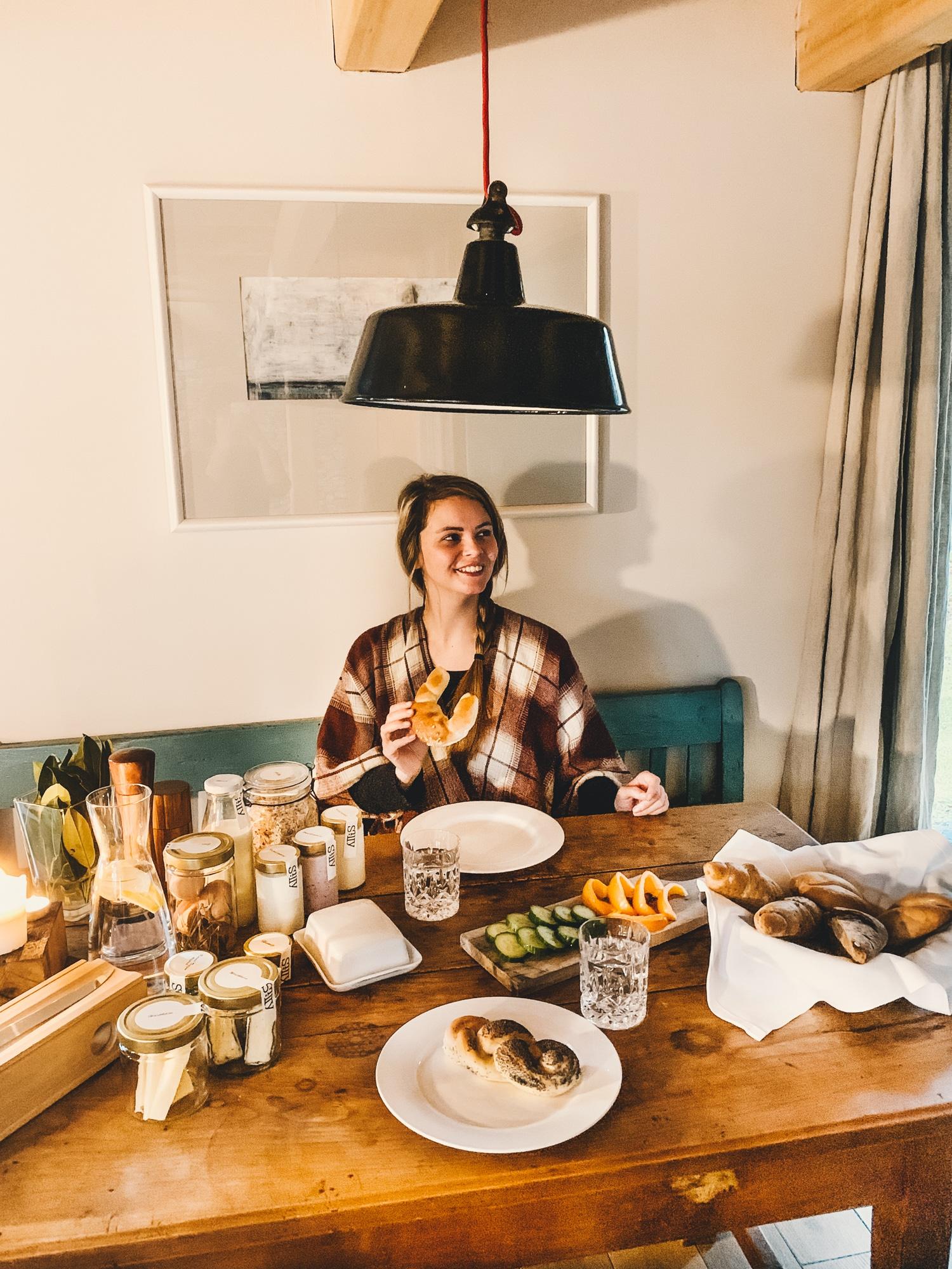 PURESLeben Erfahrungen: Das Landhaus Altenbach in der Südsteiermark - Frühstück