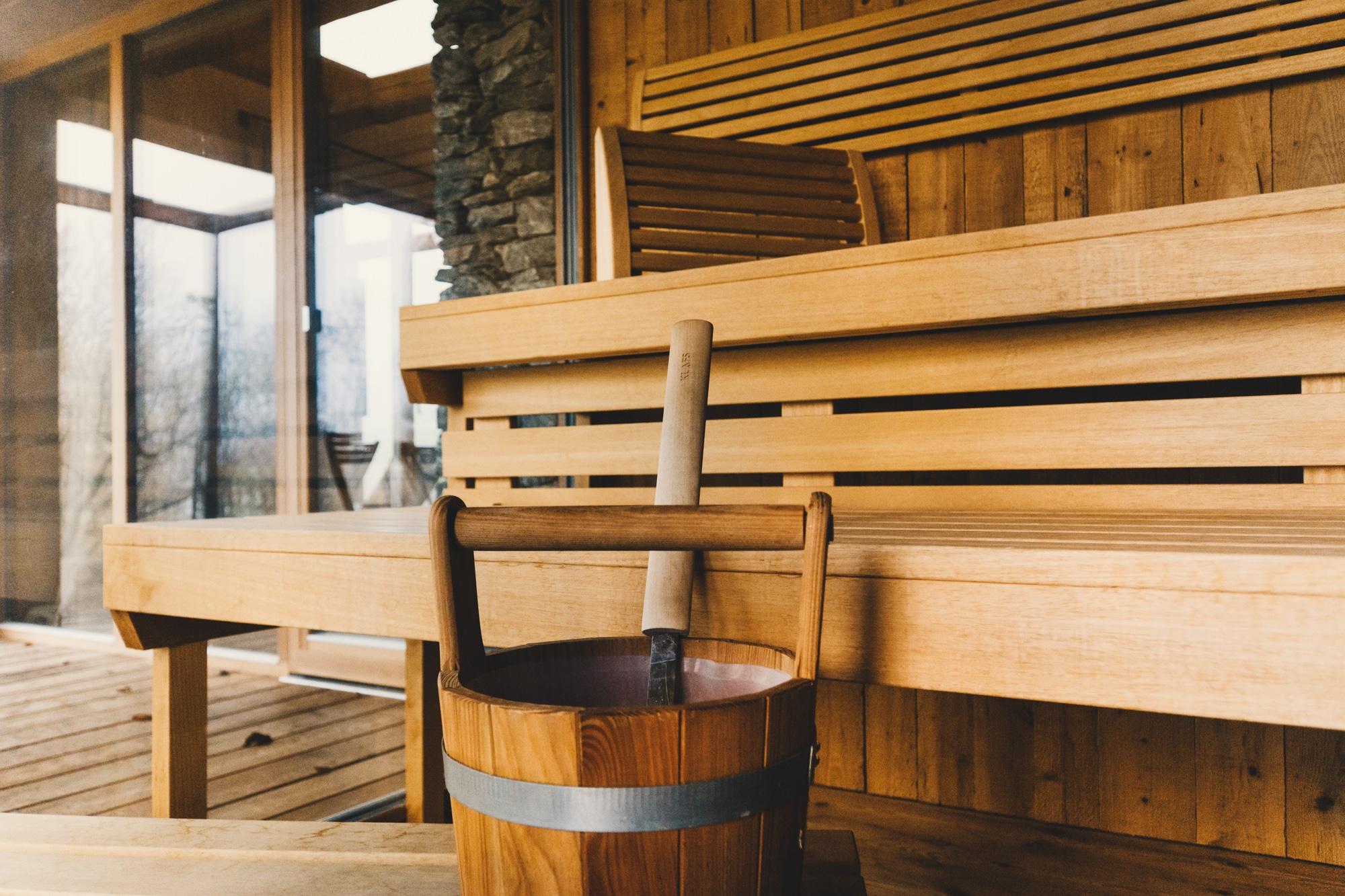 PURESLeben Erfahrungen: Das Landhaus Altenbach in der Südsteiermark - Sauna