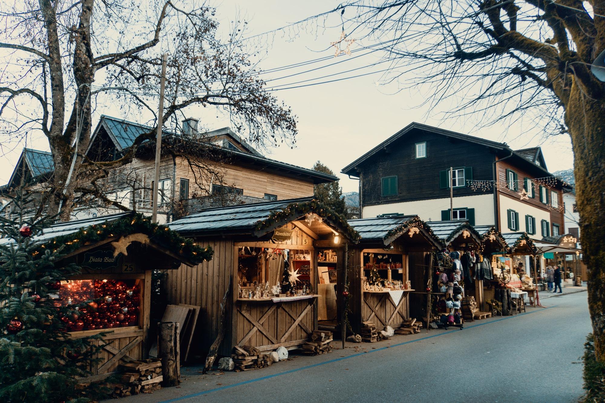 Advent im Salzkammergut: Die schönsten Weihnachtsmärkte der Region - Wolfgangseer Advent, Adventmarkt St. Gilgen