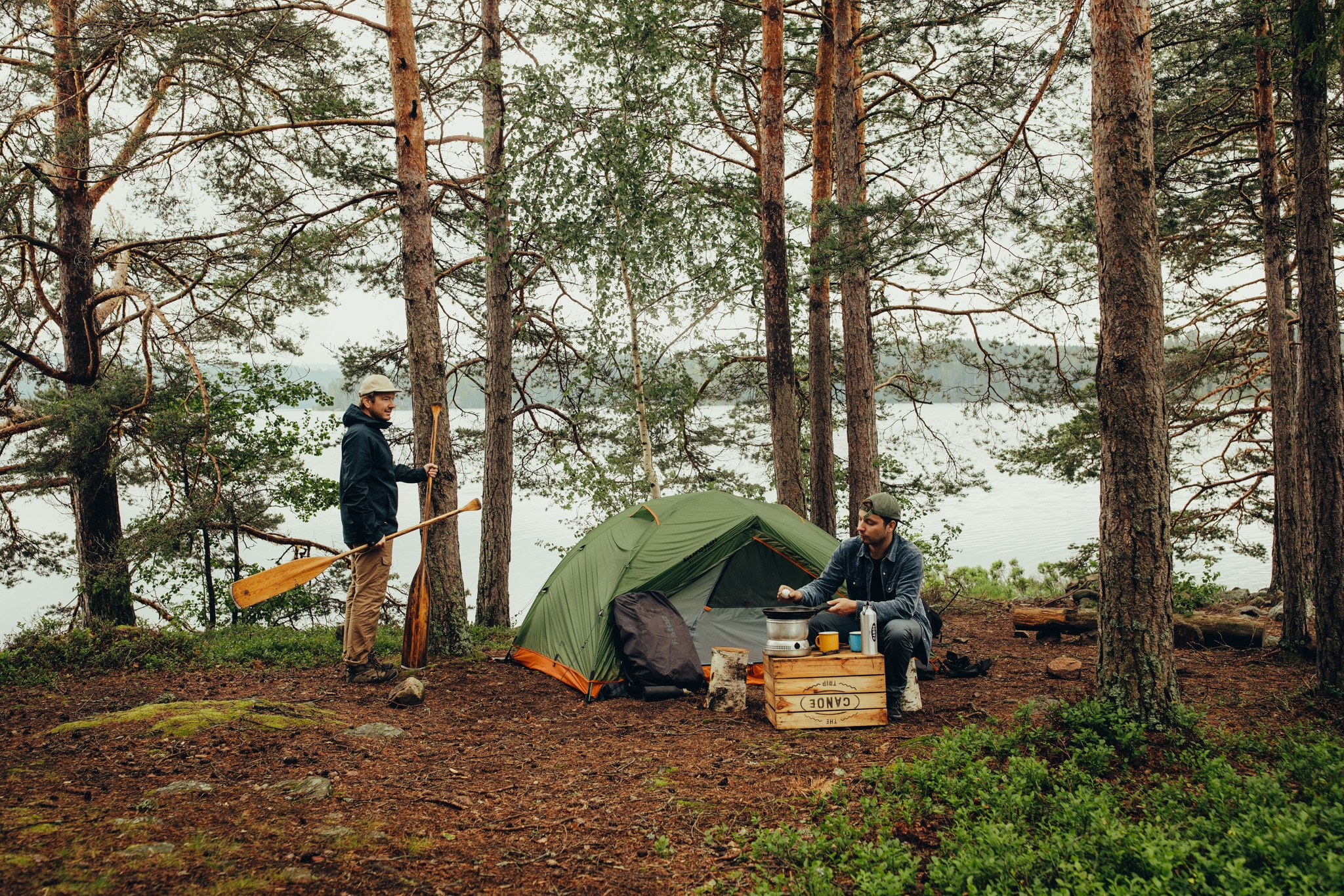 Der Kanu Trip: Organisierte Kanufahrt durch den Süden von Schweden