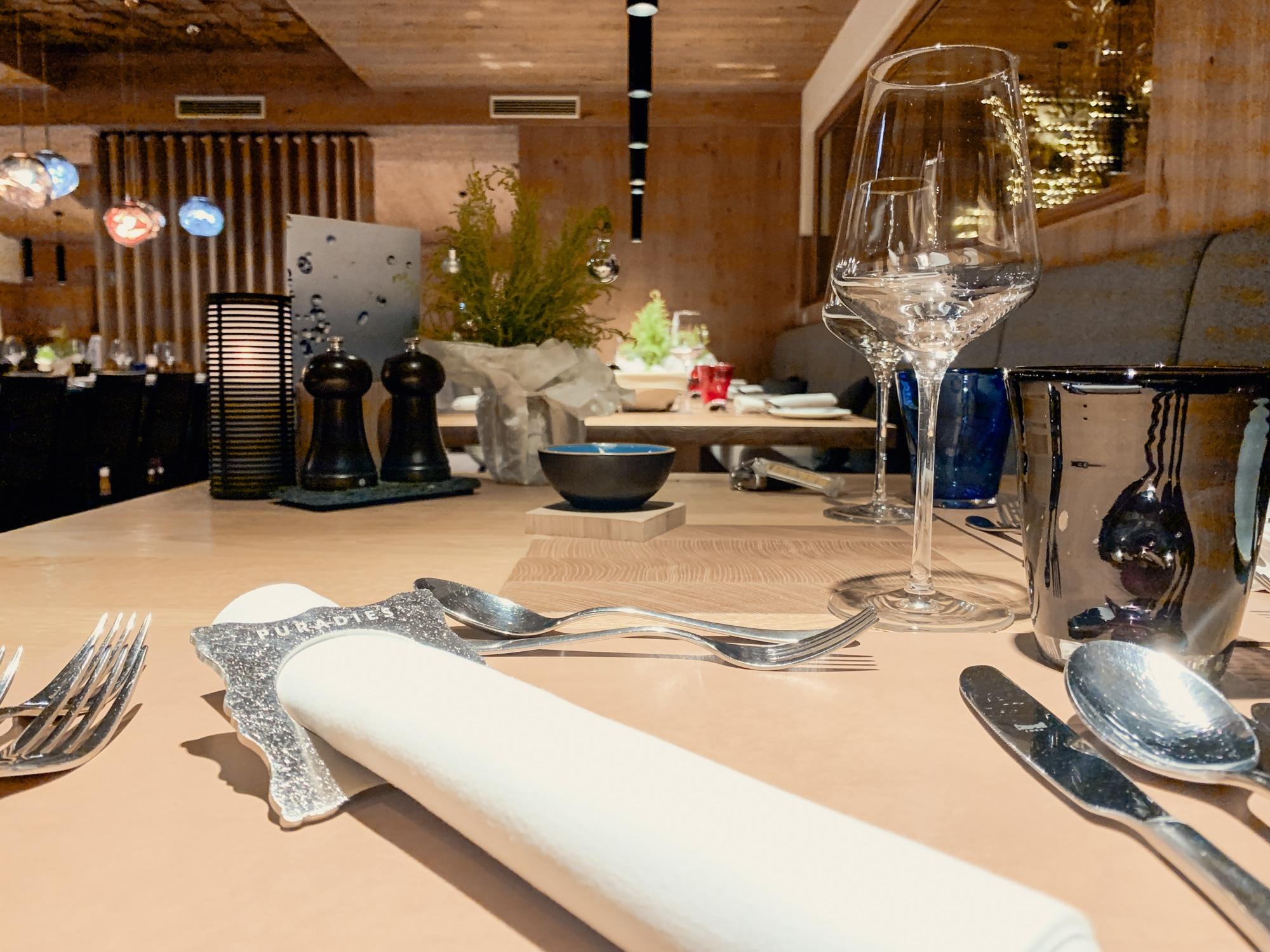 Puradies Leogang: Das Wellnesshotel und Skihotel direkt an der Piste - Abendessen