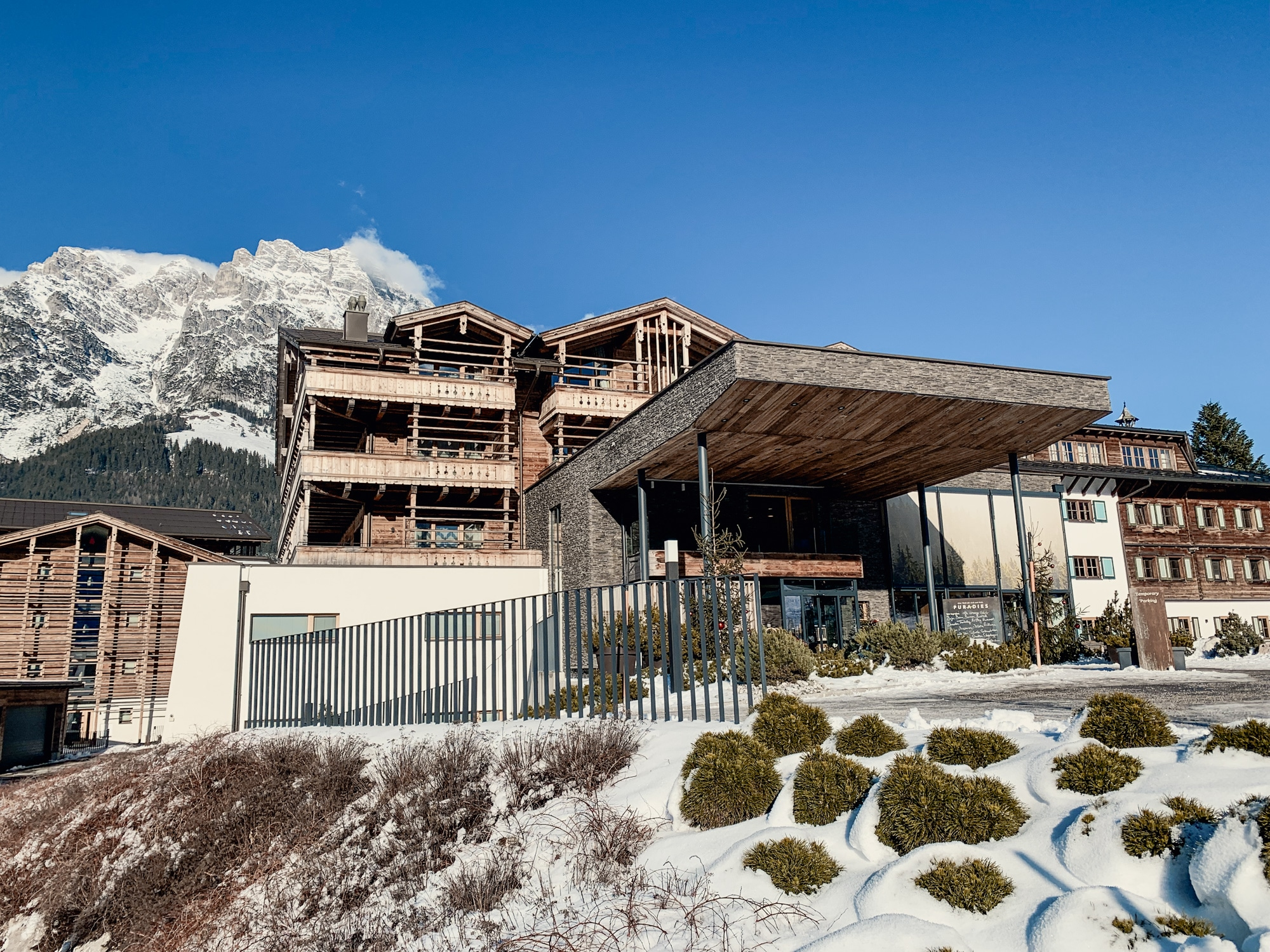 Puradies Leogang: Das Wellnesshotel und Skihotel direkt an der Piste