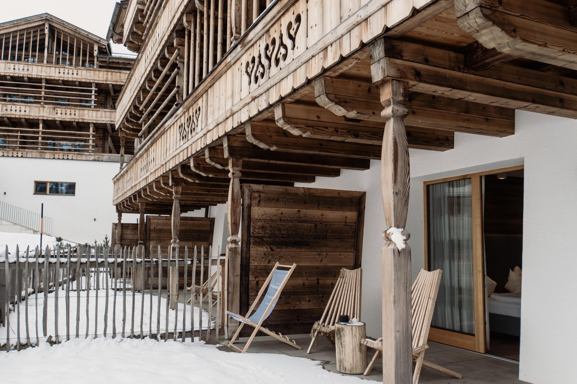Puradies Leogang: Das Wellnesshotel und Skihotel direkt an der Piste - Terrasse Suite