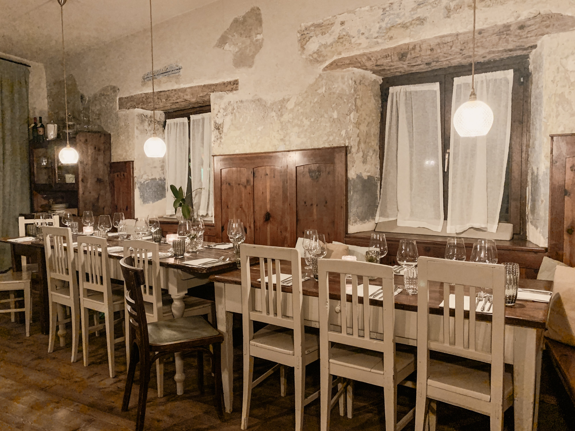 Lana, Südtirol: Winterurlaub mit Skifahren, Wellness und leckerem Essen - Abendessen Reichhalter