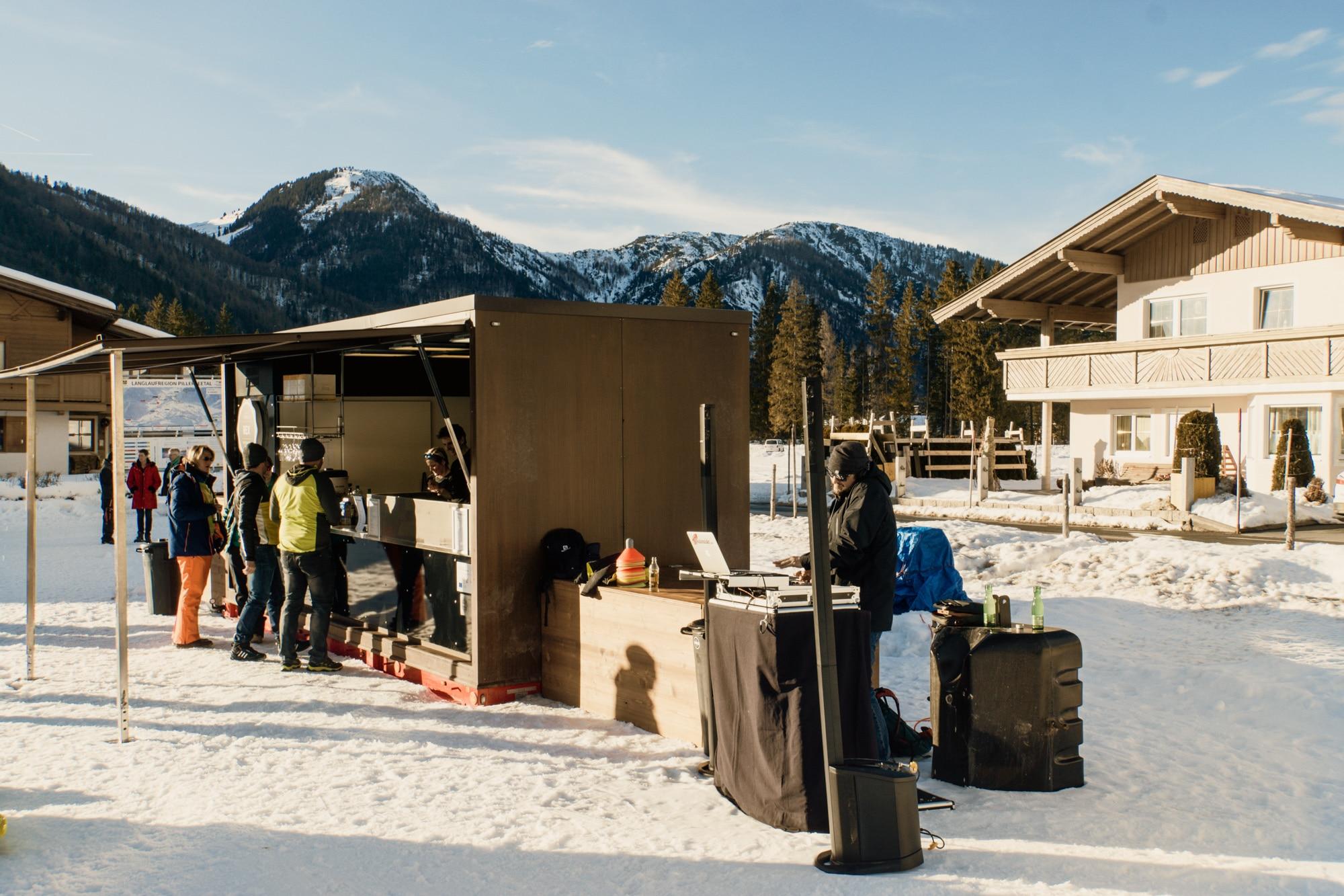 Nordic Spirit Event im Pillerseetal: Langlauf, Biathlontraining und mehr. - Foodtruck und DJ