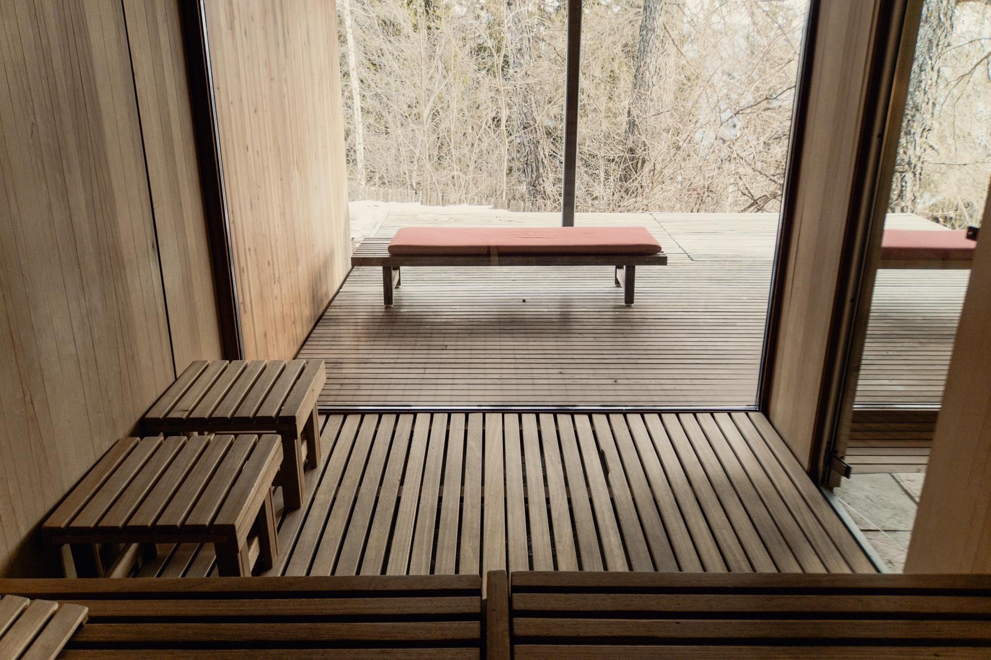 Lana, Südtirol: Winterurlaub mit Skifahren, Wellness und leckerem Essen - Vigilius Mountain Resort Sauna