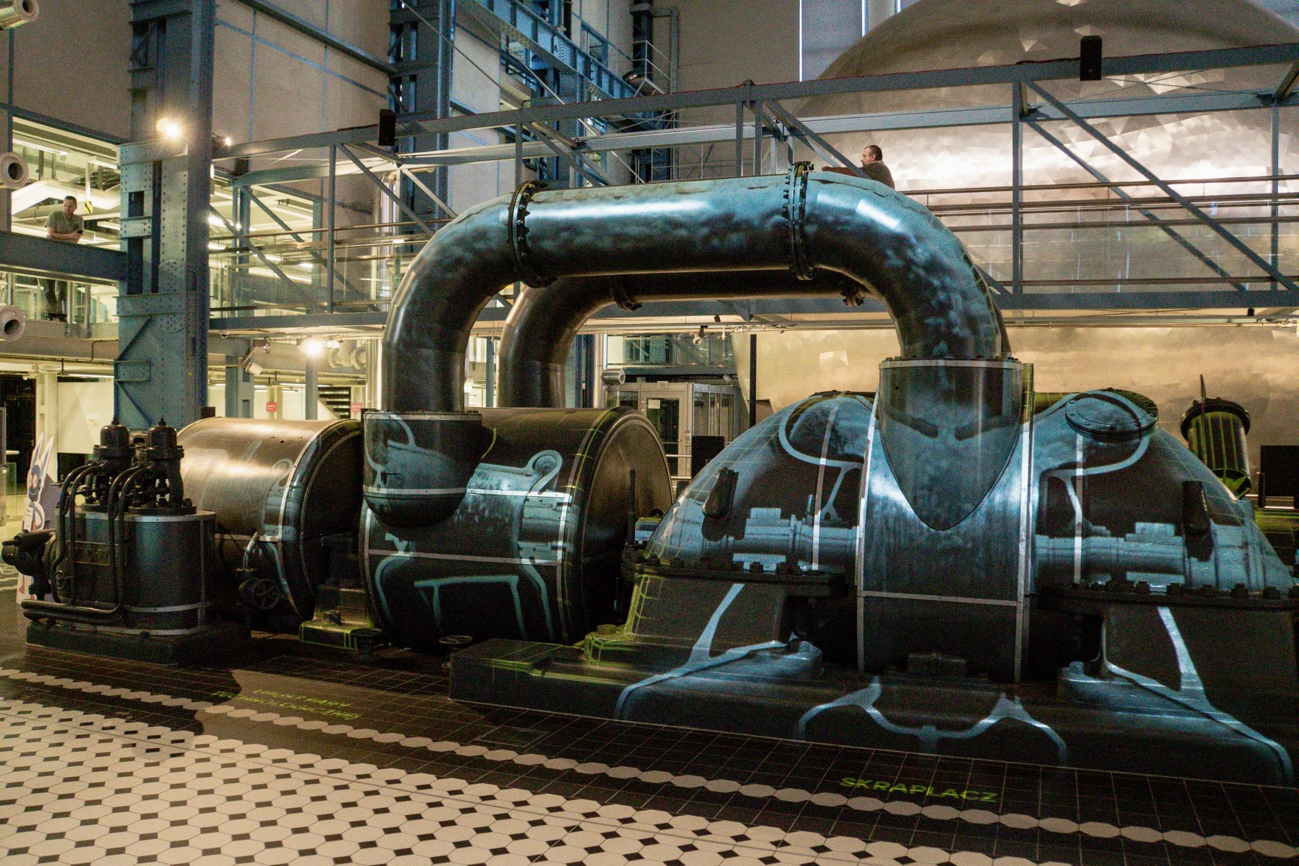 Lodz Top Ten Sehenswürdigkeiten - Highlights für euren Städtetrip in Polen - EC 1 Technikmuseum