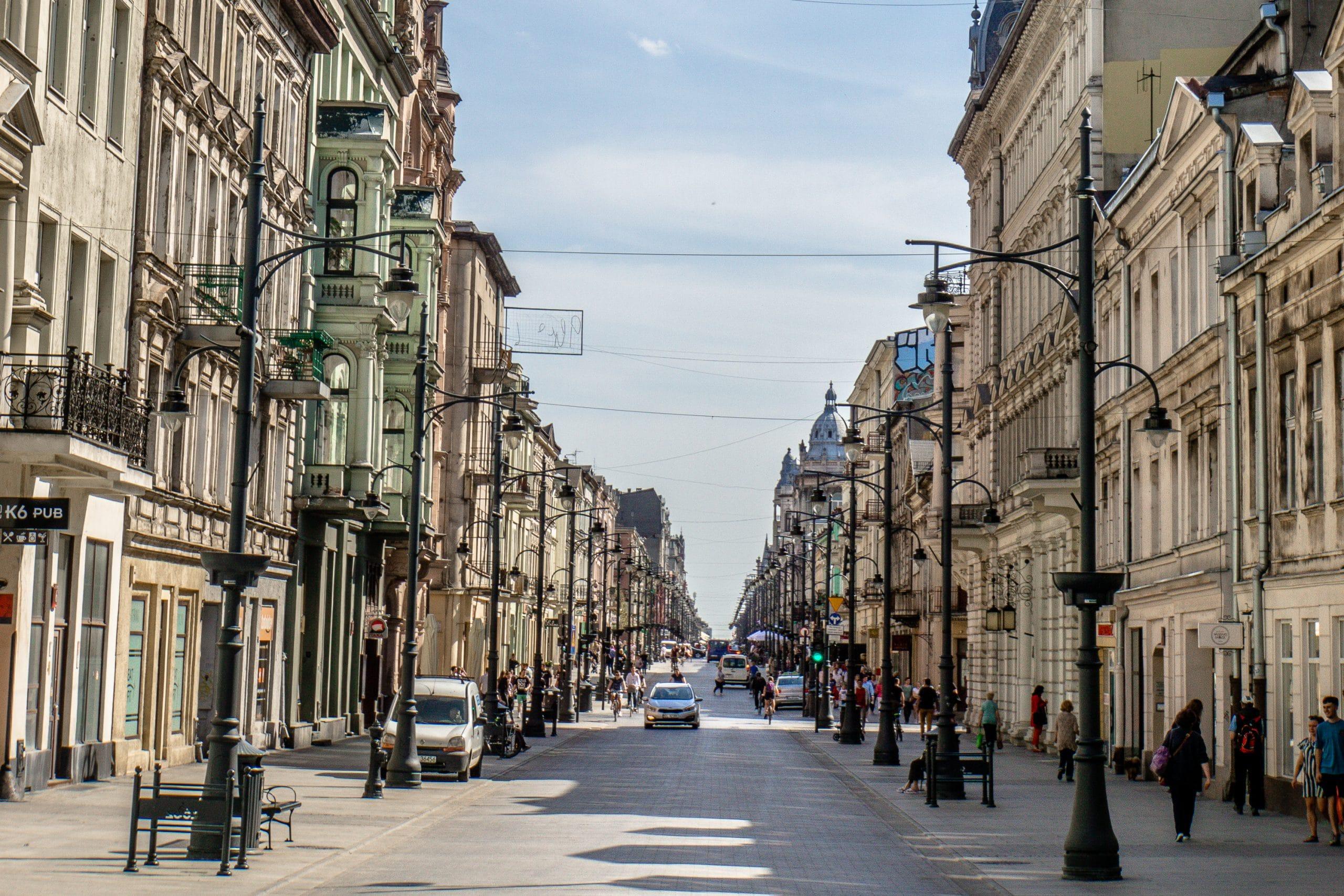 Lodz Top Ten Sehenswürdigkeiten - Highlights für euren Städtetrip in Polen - Piotrkowska-Straße