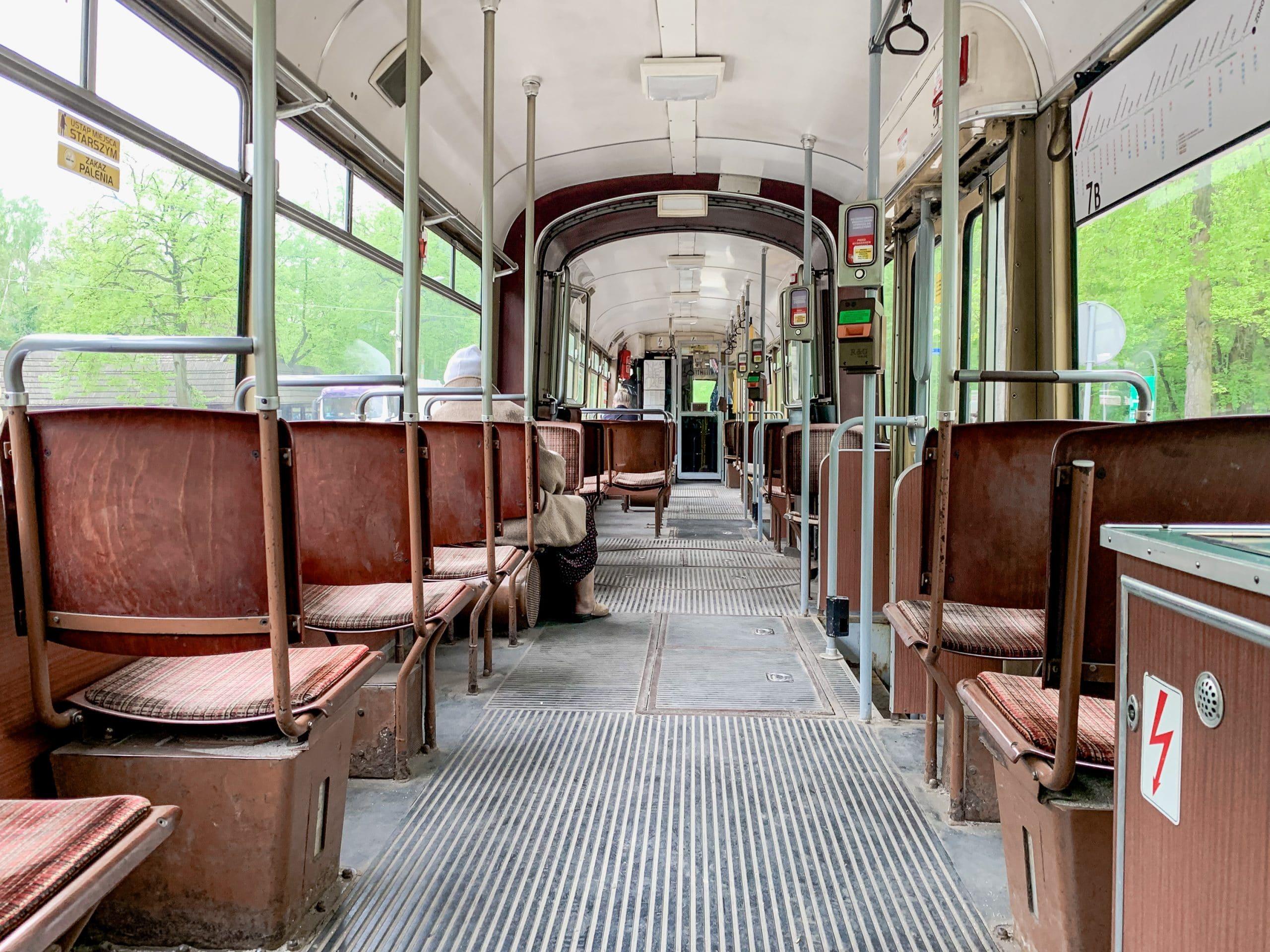 Lodz Top Ten Sehenswürdigkeiten - Highlights für euren Städtetrip in Polen - Historische Straßenbahn