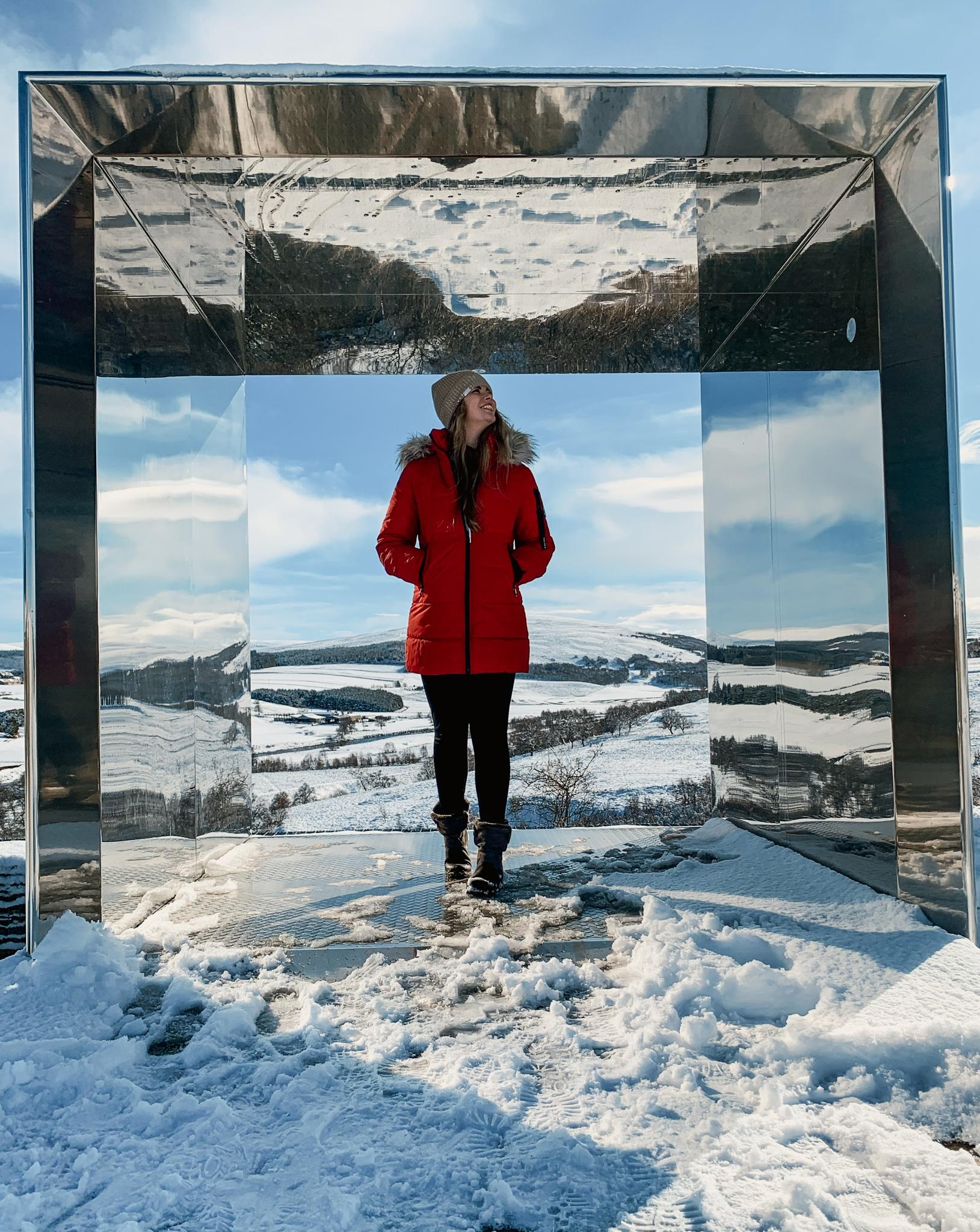 Cairngorms Nationalpark: Die SnowRoads Scenic Route in den Highlands - Art Installation Still
