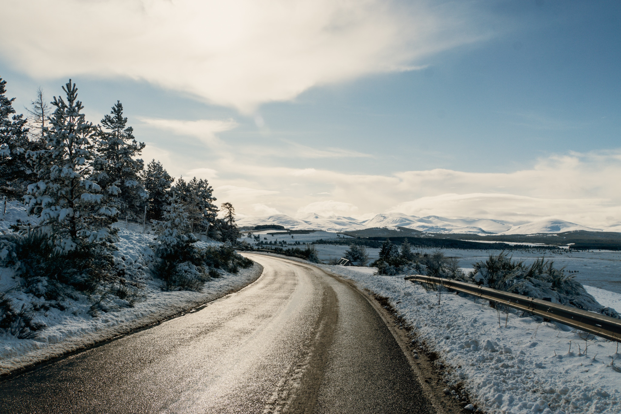 Cairngorms Nationalpark: Die SnowRoads Scenic Route in den Highlands