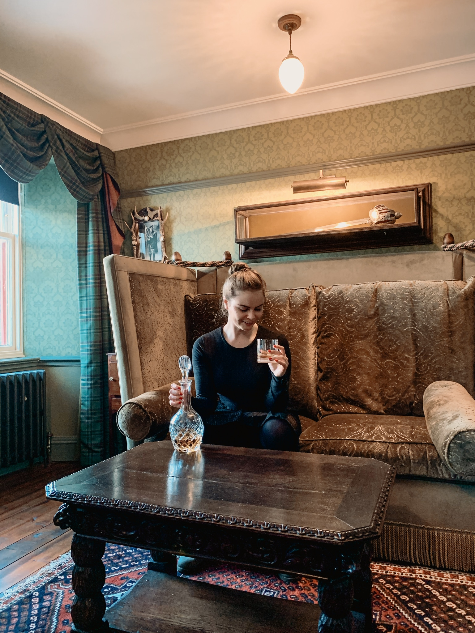 Cairngorms Nationalpark: Die SnowRoads Scenic Route in den Highlands - The Five Arms Highlander Room