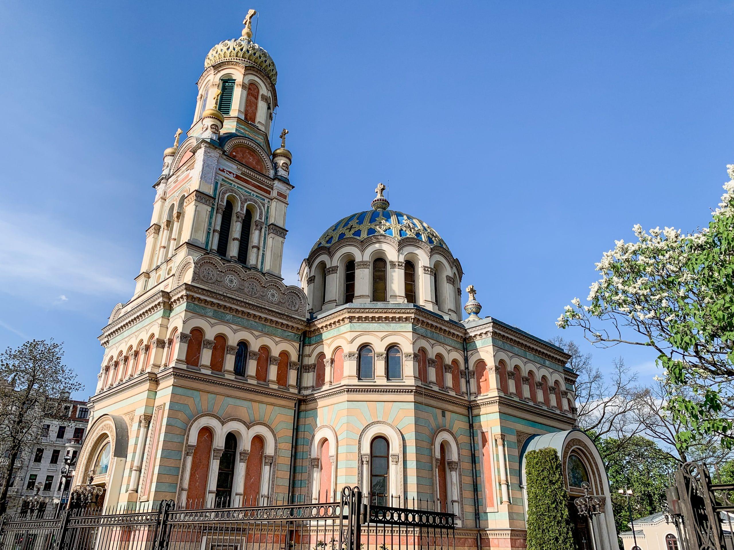 Lodz Top Ten Sehenswürdigkeiten - Highlights für euren Städtetrip in Polen - Alexander Nevsky Orthodoxe Kirche