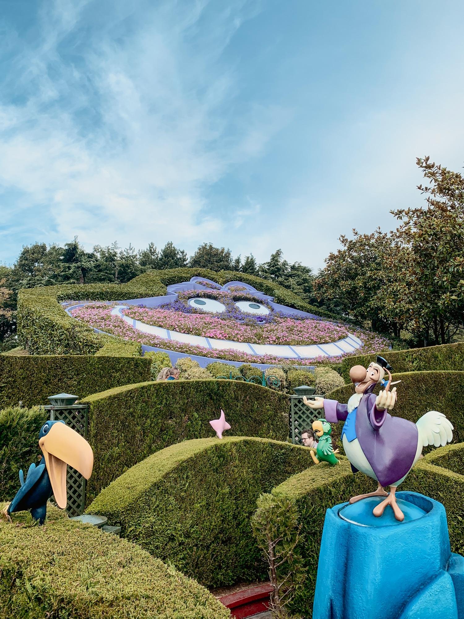 Disneyland Paris Tipps: 10 tolle Hacks für den glücklichsten Ort der Welt - Alice im Wunderland Labyrinth