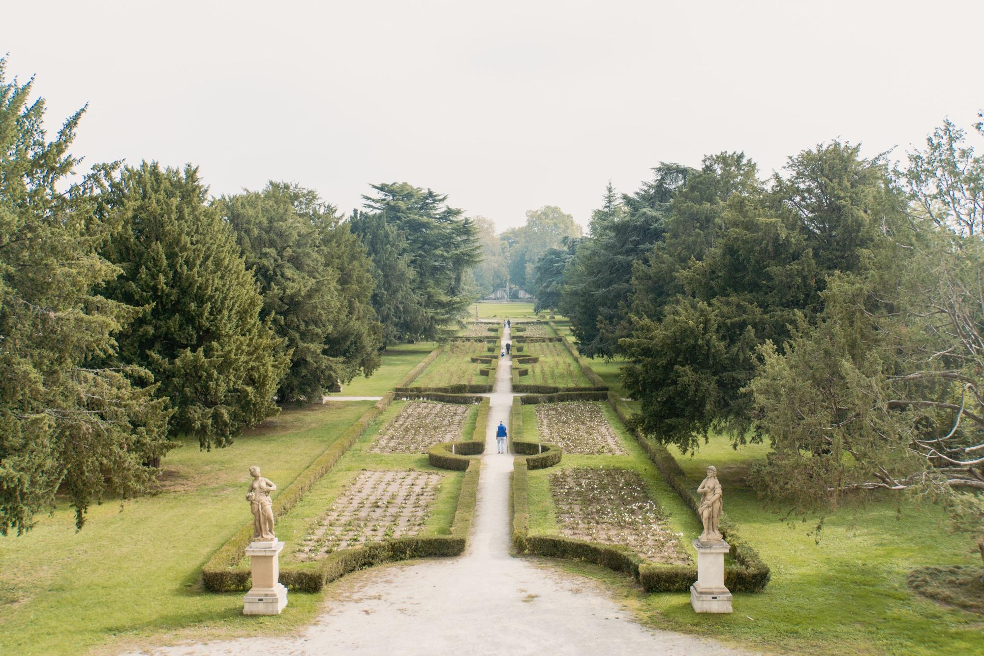 Monza und Brianza: Sehenswürdigkeiten und Highlights in der Lombardei - Palazzo Arese Borromeo Garten