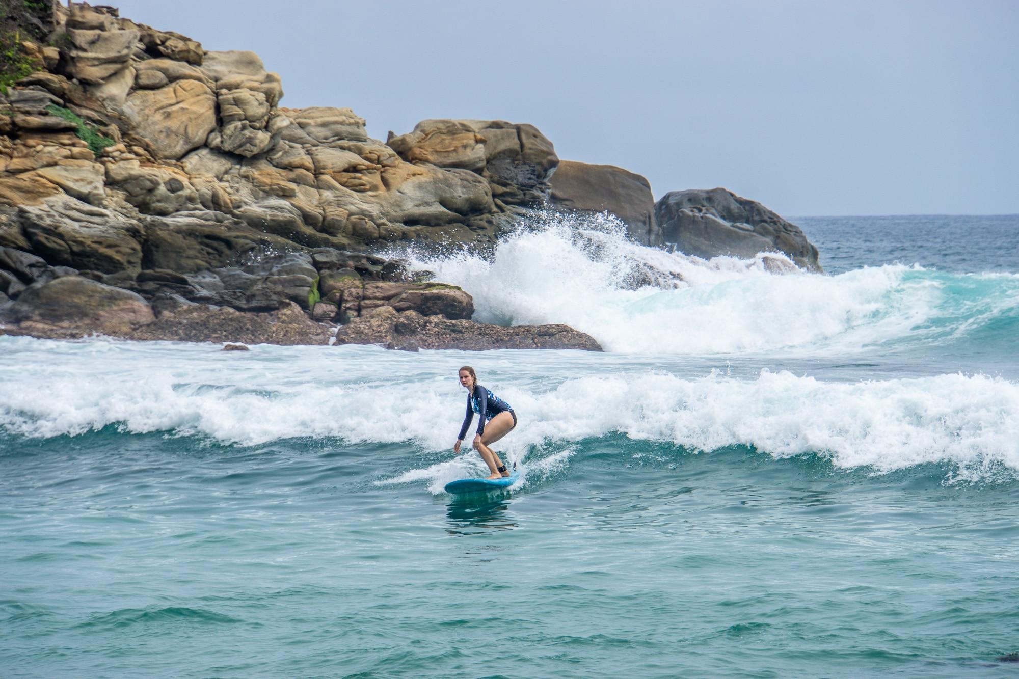 Puerto Escondido: Highlights, Erlebnisse und Ausflugsziele in Mexiko - Playa Carrizalillo Surfen