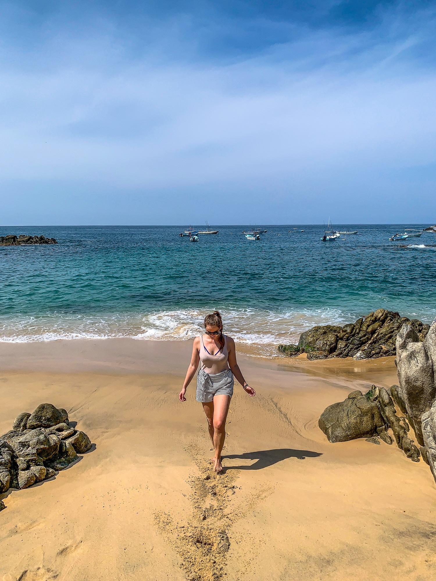 Puerto Escondido: Highlights, Erlebnisse und Ausflugsziele in Mexiko - Playa Manzanilla