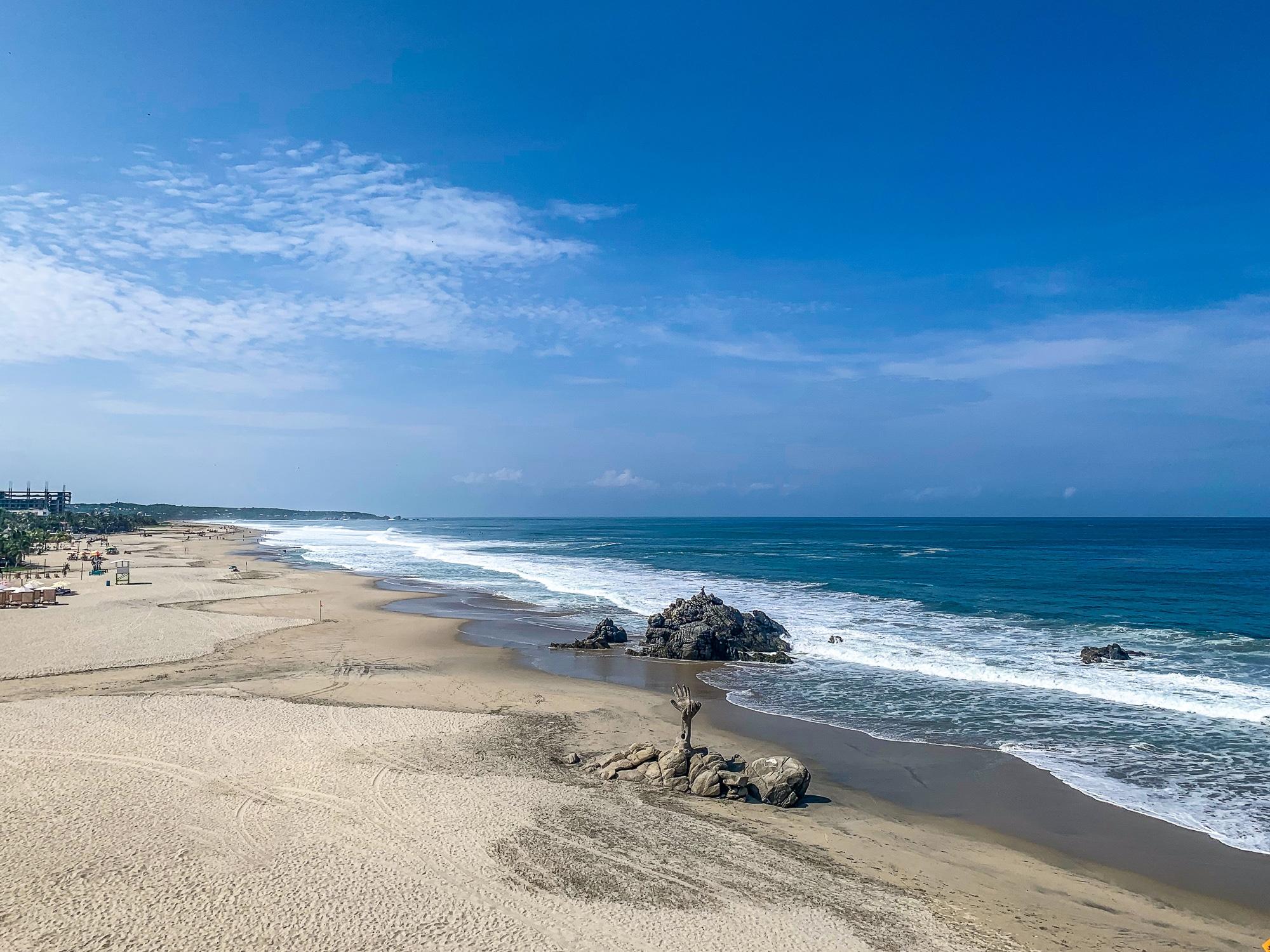 Puerto Escondido: Highlights, Erlebnisse und Ausflugsziele in Mexiko - Playa Zicatela