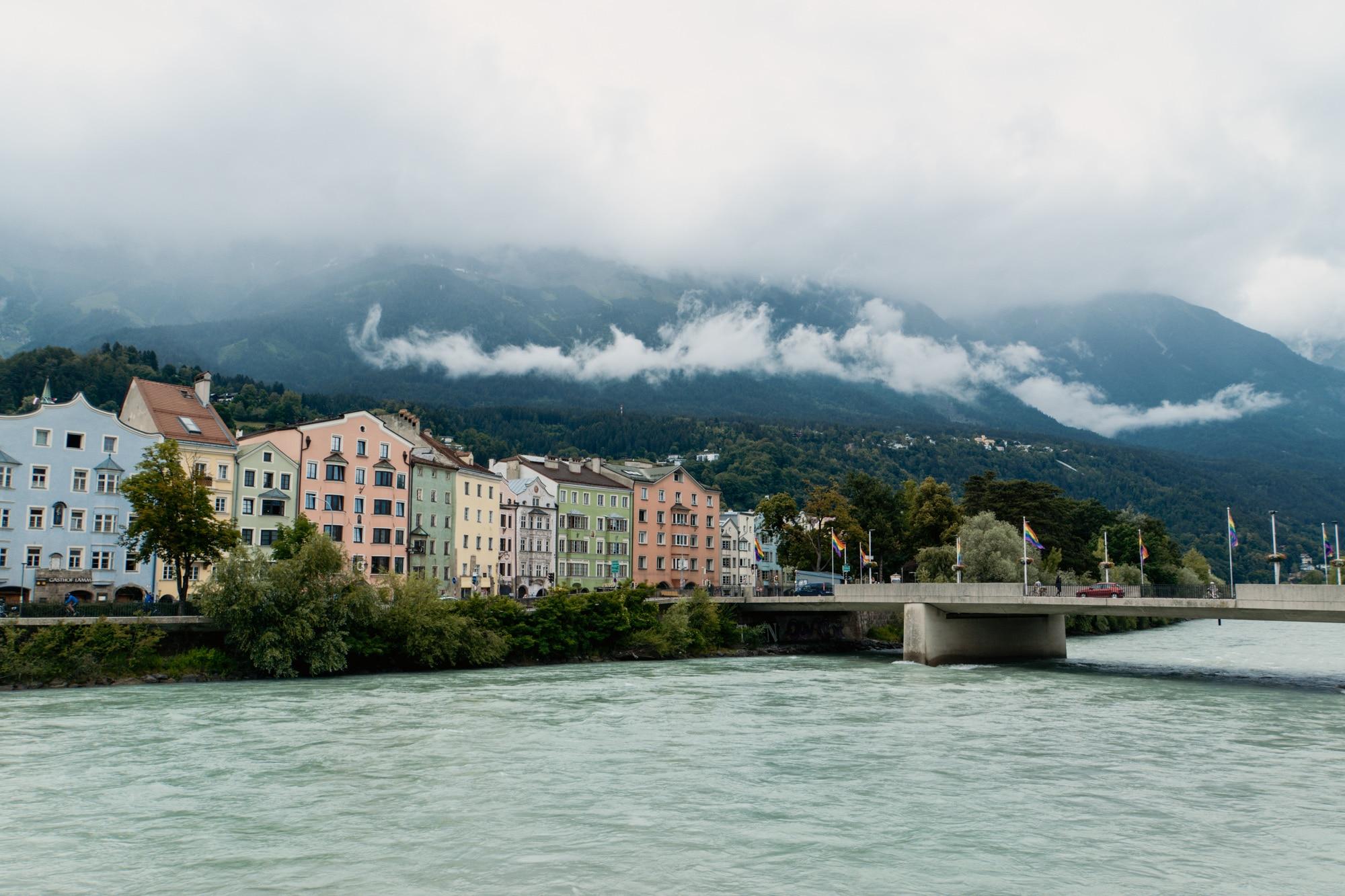 Innsbruck Sehenswürdigkeiten: Top Ten Highlights und Tipps für die Stadt - Aussicht Maria-Hilf