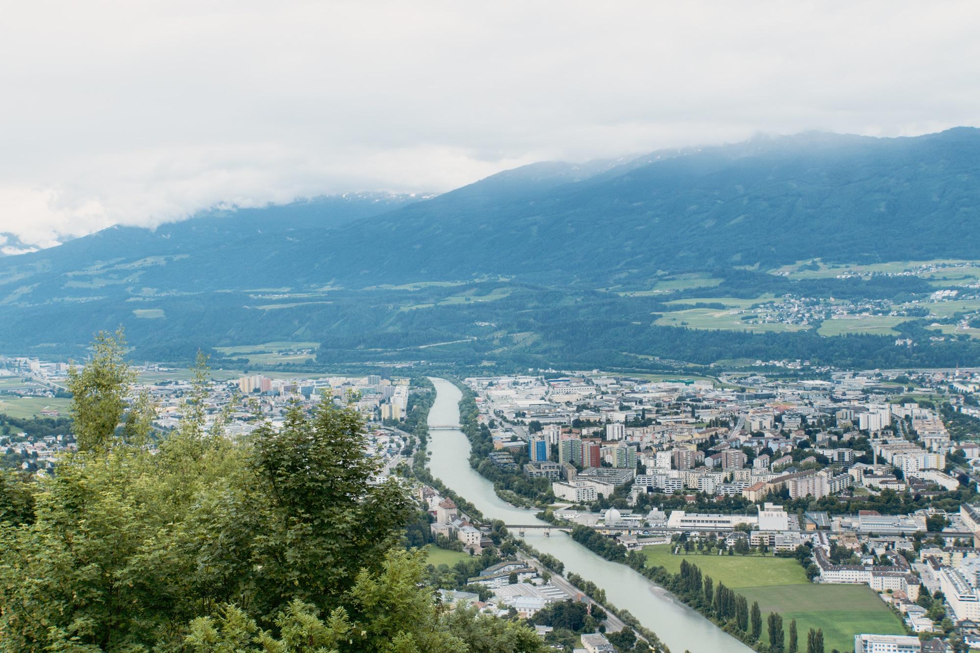 Innsbruck Sehenswürdigkeiten: Top Ten Highlights und Tipps für die Stadt - Aussicht Hungerburg
