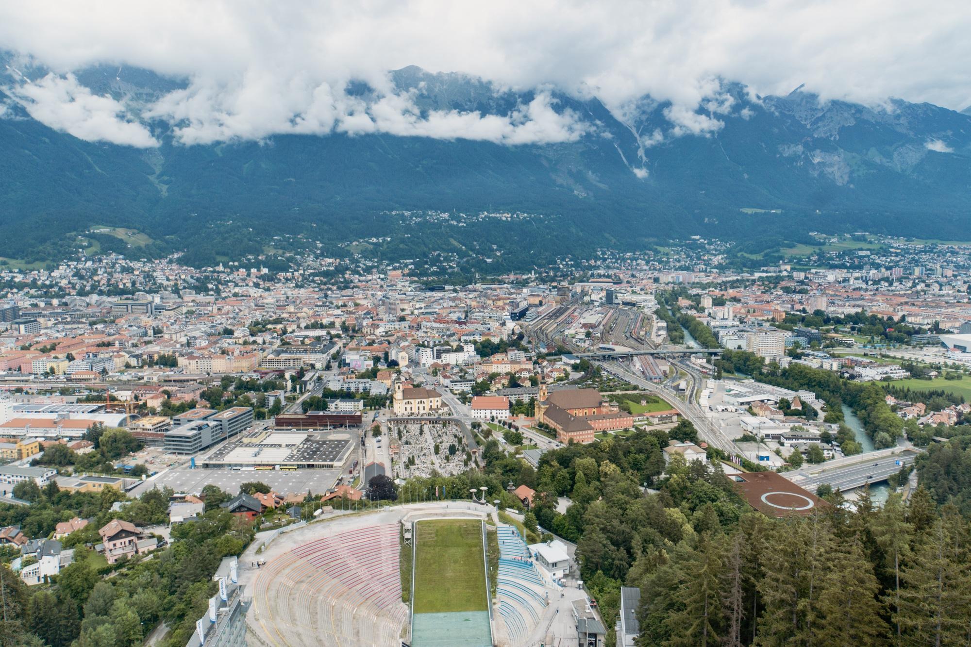Innsbruck Sehenswürdigkeiten: Top Ten Highlights und Tipps für die Stadt - Bergisel Schanze