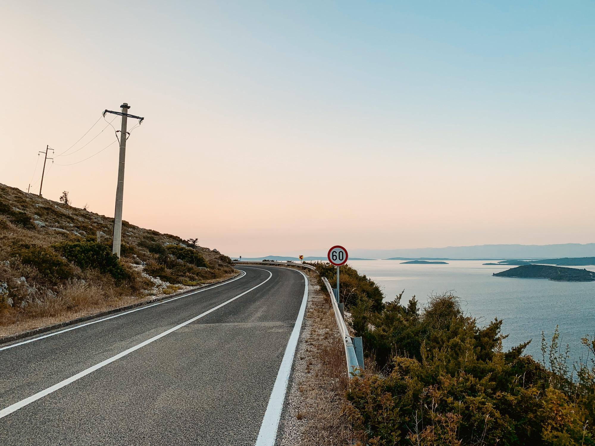Dugi Otok Sehenswürdigkeiten: Meine Highlights und Tipps für die Insel - Aussicht zum Sonnenuntergang